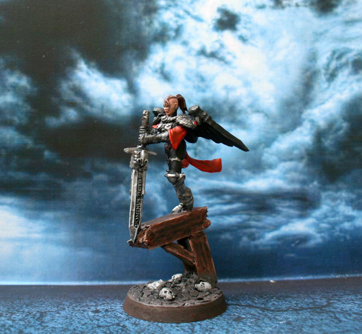 Adepta Sororitas, Scratch Build, Seraphim, Sisters Of Battle