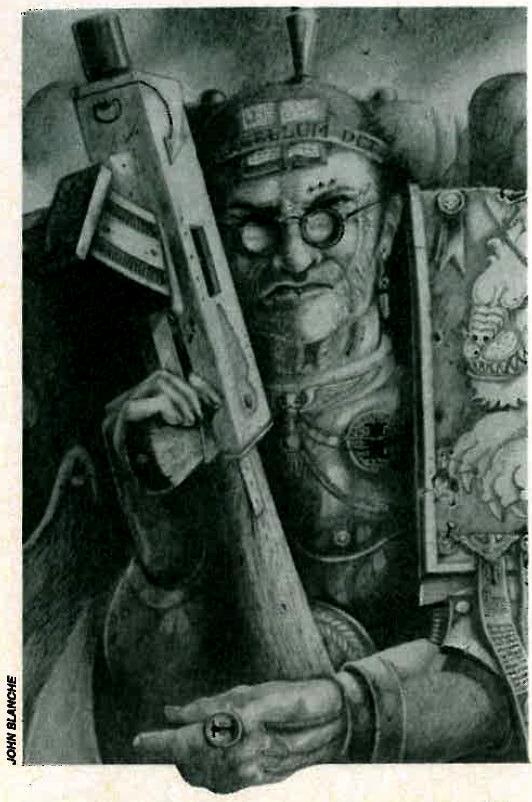 Copyright Games Workshop, Inquisitor, John Blanche, Kryptman, Retro Review, Warhammer 40,000, White Dwarf