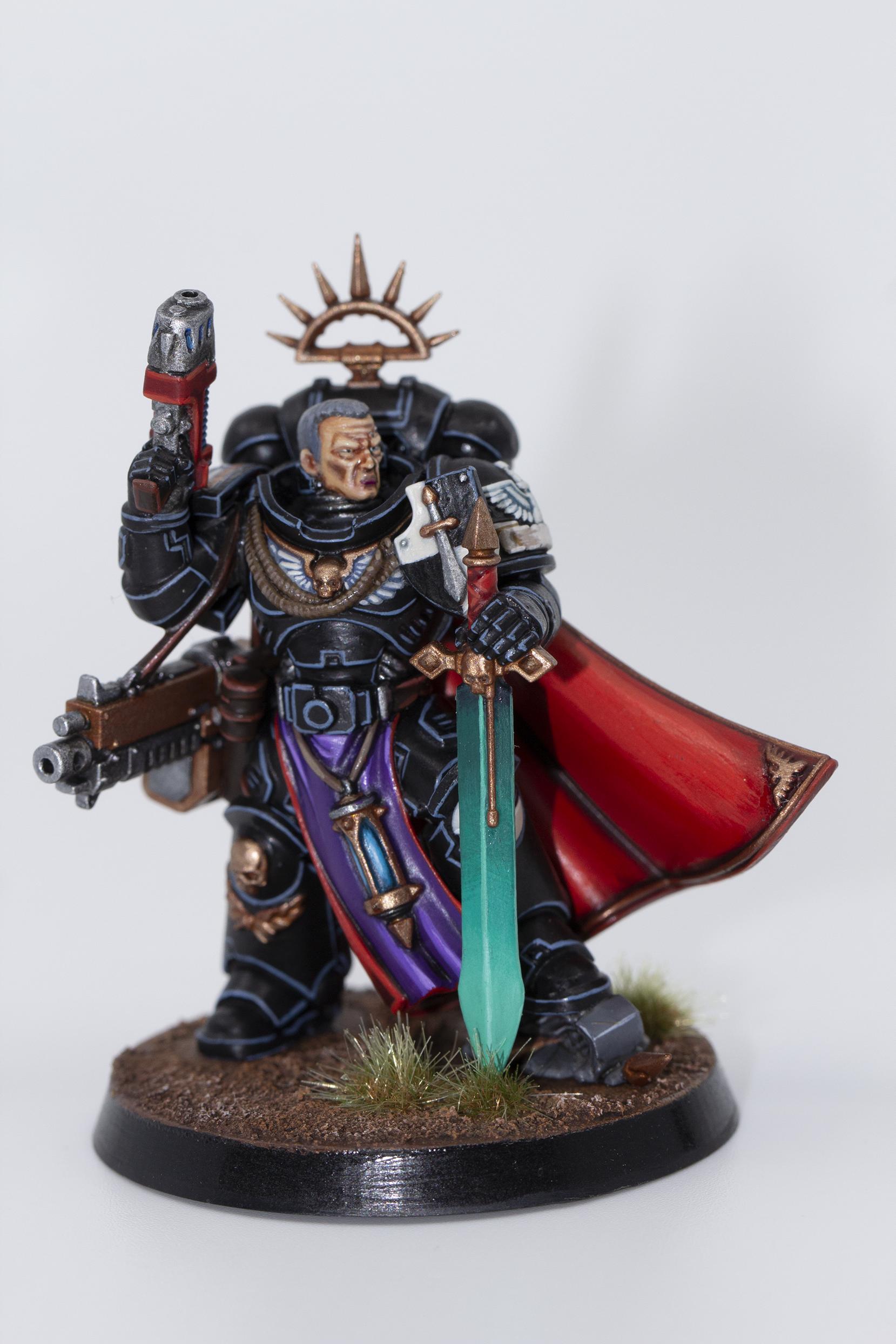 Dark Angels, Dark Angels Captain, Warhammer 40,000