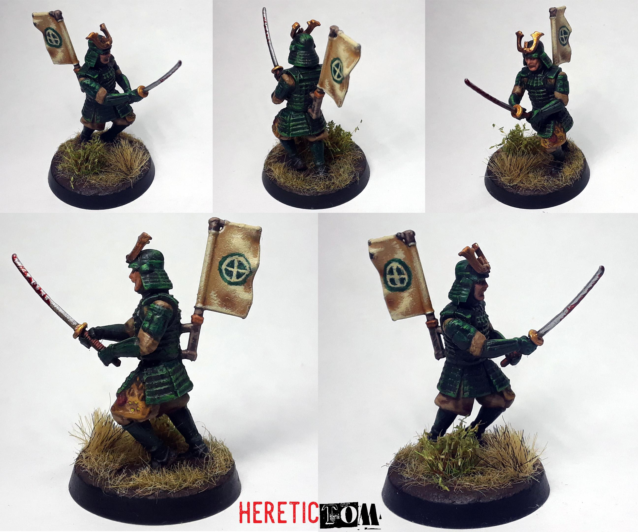 Ronin, Samurai, Shimazu, Test Of Honour, Warlord Games