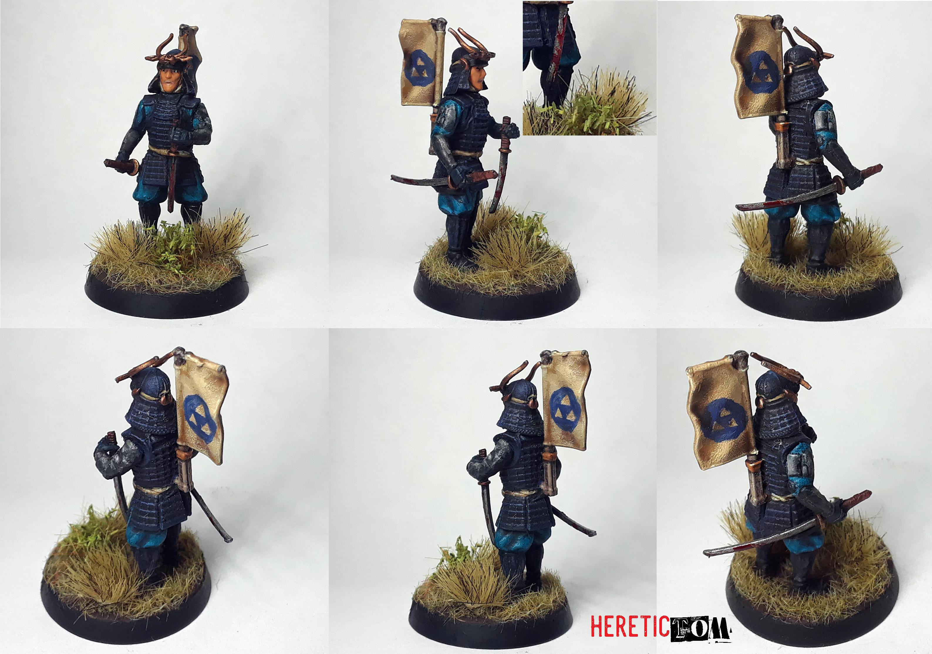 Hojo, Ronin, Samurai, Test Of Honour, Warlord Games