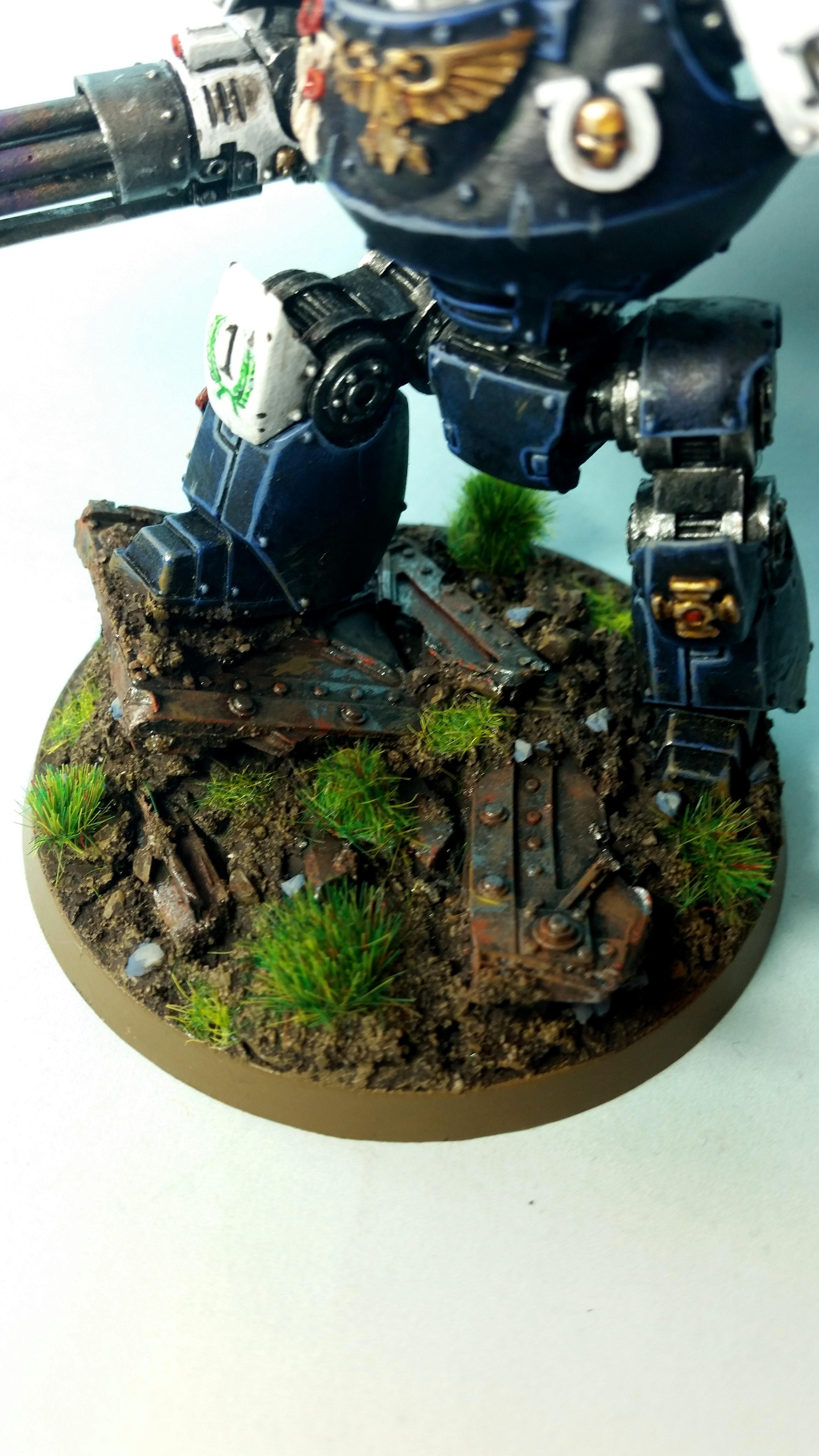 Contemptor, Forgeworld. Space Marines. Ultramarines