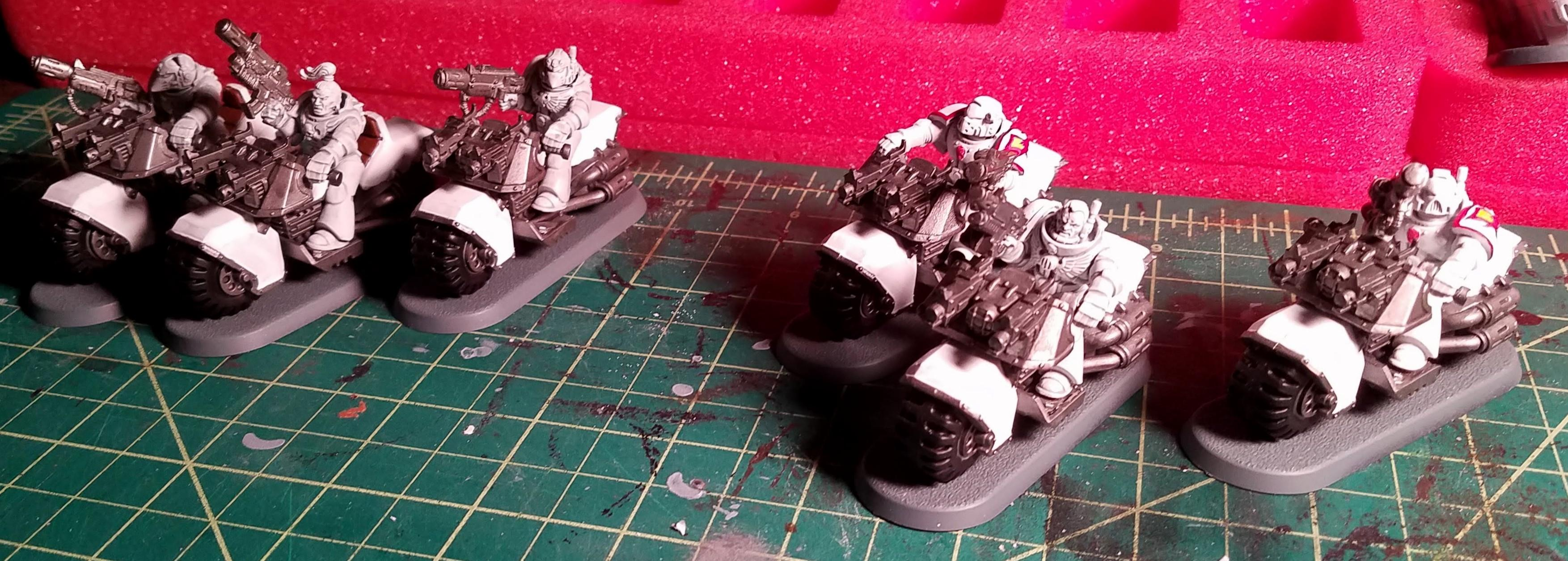 Two Bike squads with triple-melta