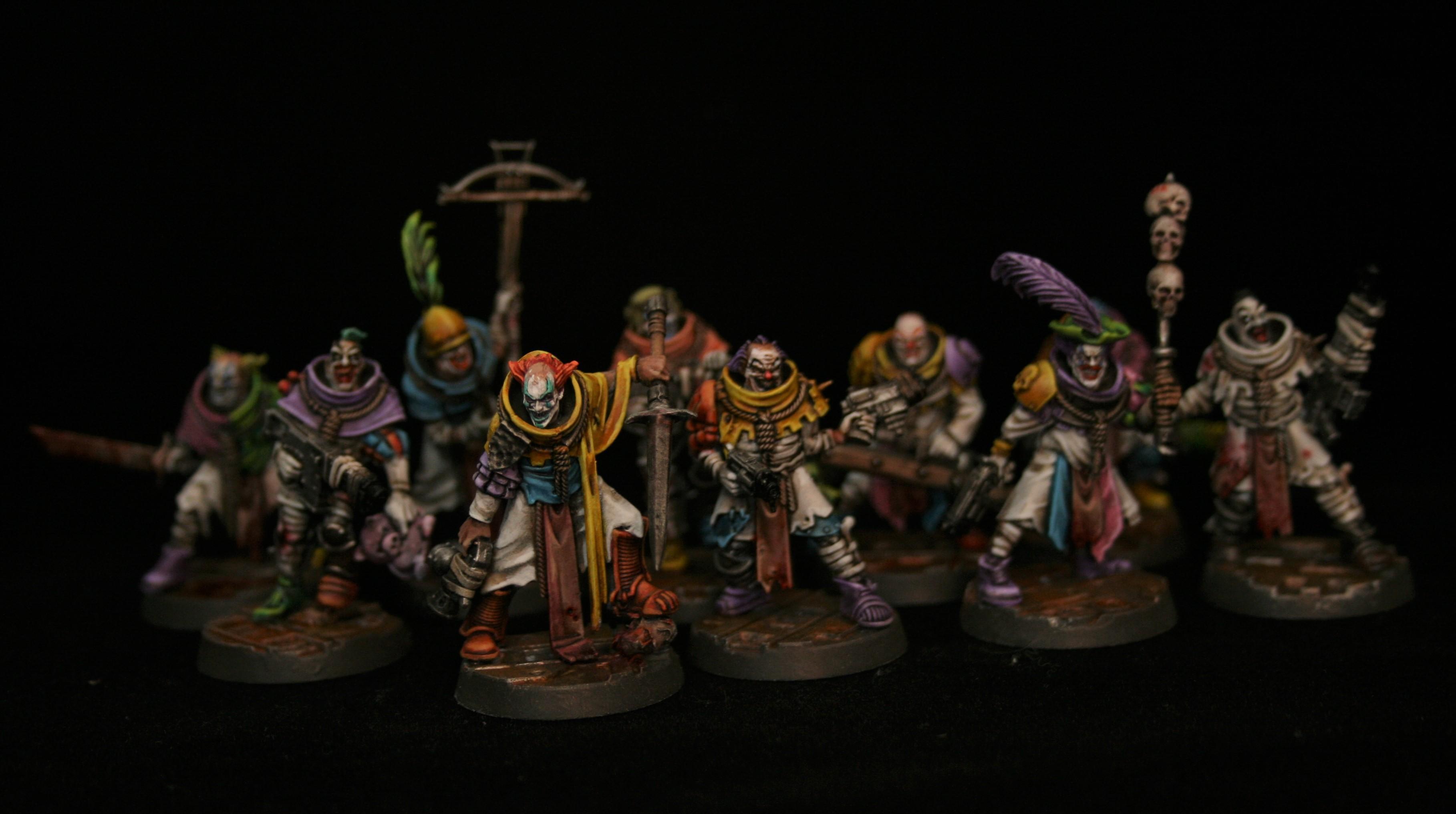 Cawdor, Clowns, Conversion, Necromunda