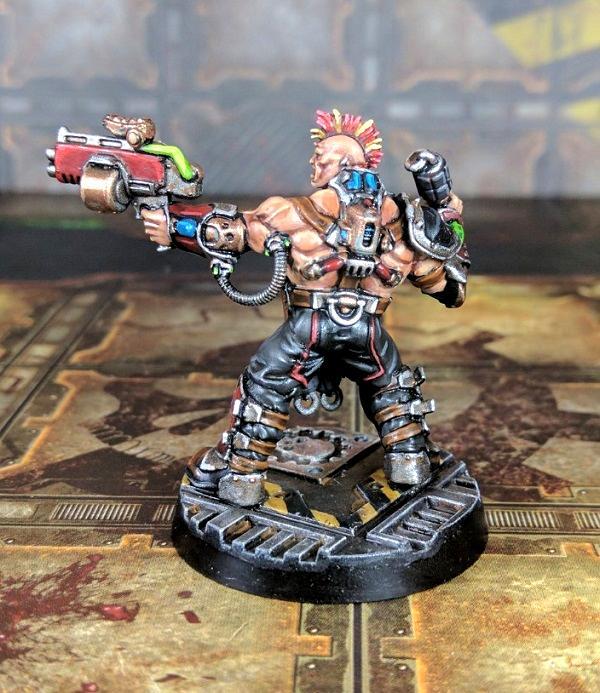 Bonesnapper, House Goliath, Iron Lords, Necromunda, Underhive