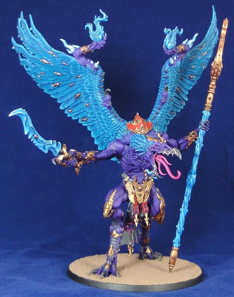Big Bird, Birb, Daemons Of Chaos, Daemons Of Tzeentch, Disciples Of Tzeentch, Greater Daemon, Lord Of Change, Purple Daemon, Tzeentch