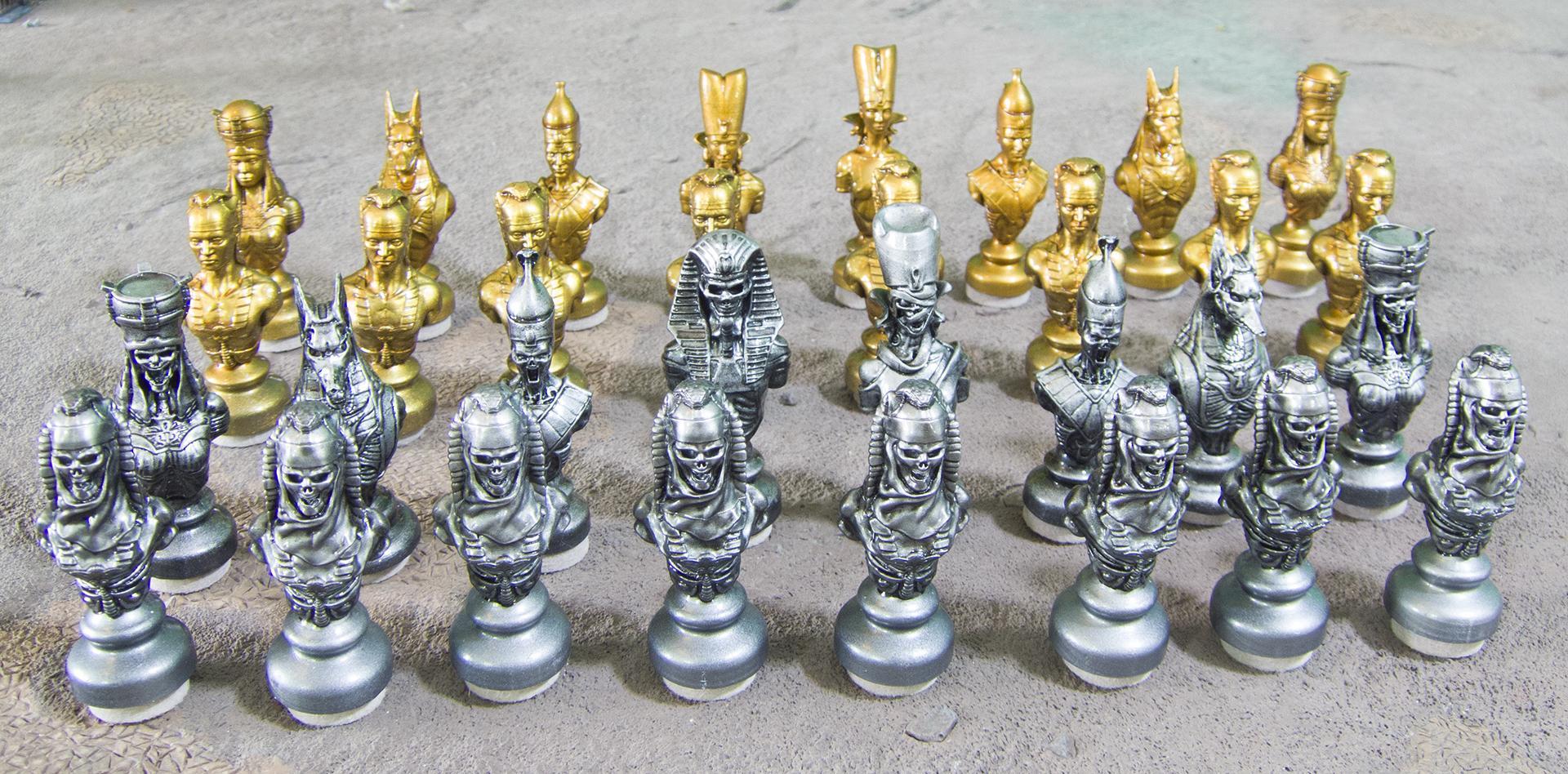3d Print, 3d Printing, Anycubic Photon, Chess, Egyptian, Photon