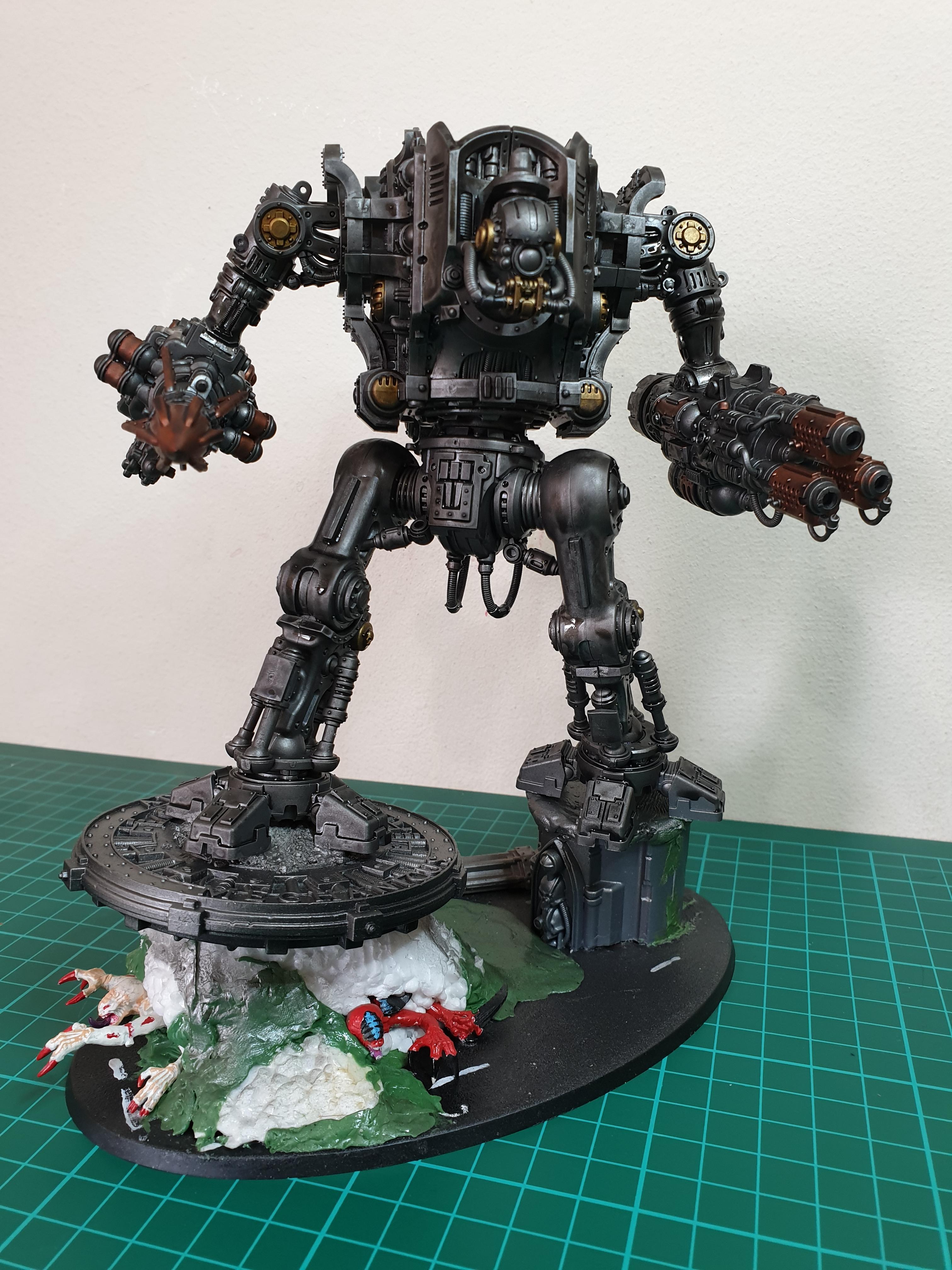 valiant skeleton + base
