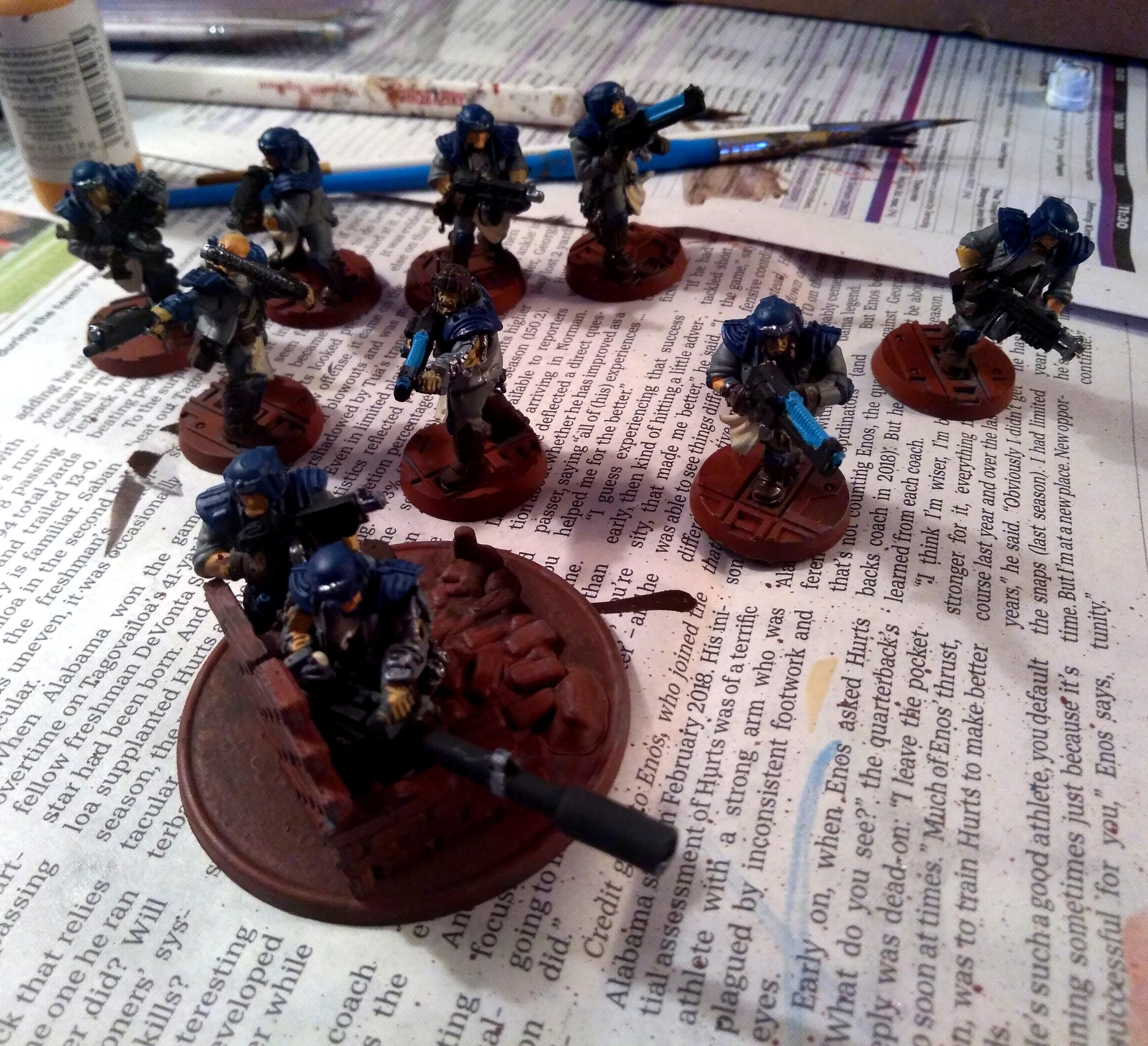 Adeptus Arbites, Imperial Guard, Orlocks, Veteran