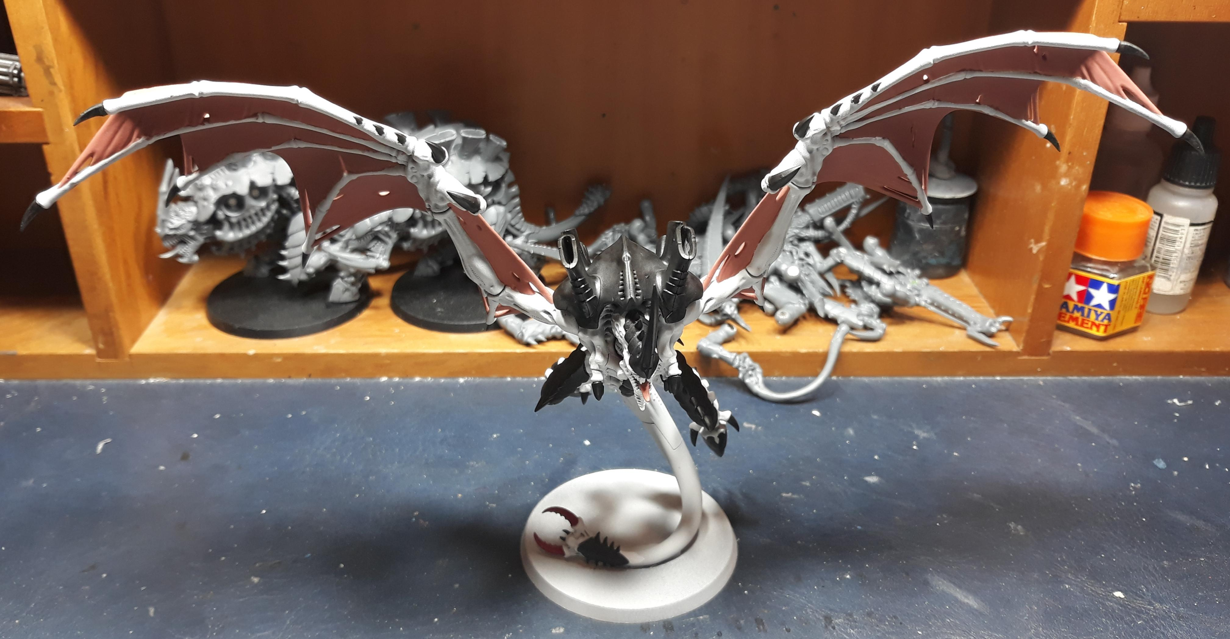 Hive Tyrant WIP 3 front