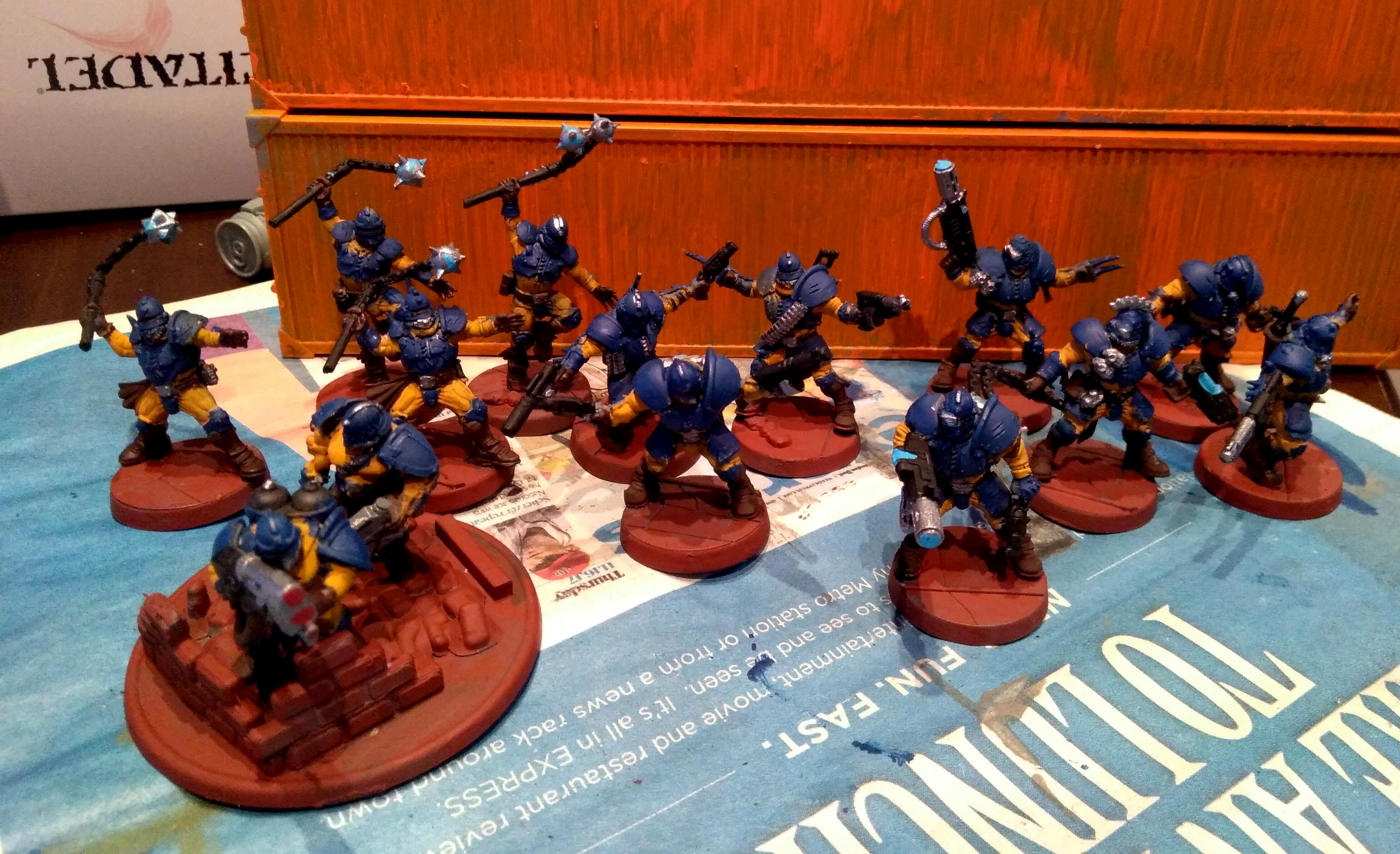 Adeptus Arbites, Blood Bowl, Empire, Enforcers, Imperial Guard