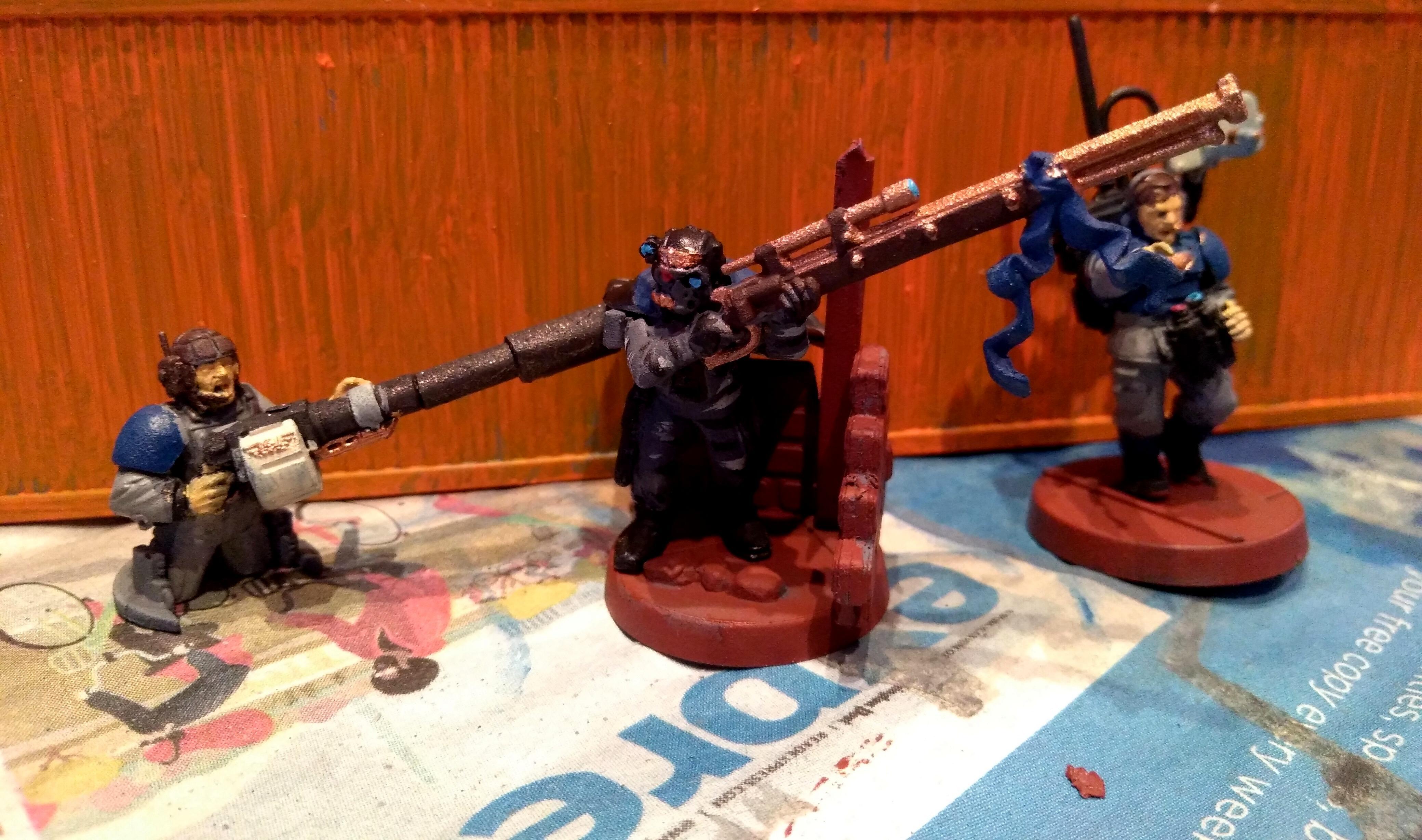 Adeptus Arbites, Assassin, Imperial Guard, Vindicare