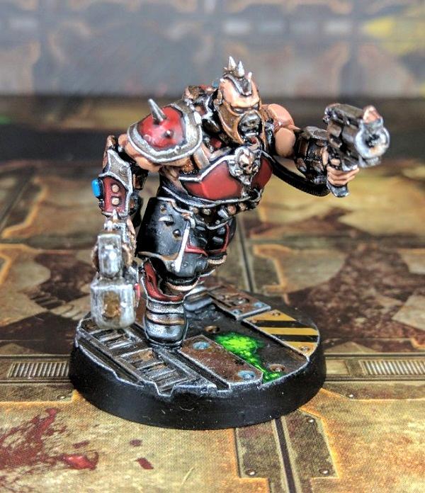 Ganger, House Goliath, Iron Lords, Necromunda, Underhive