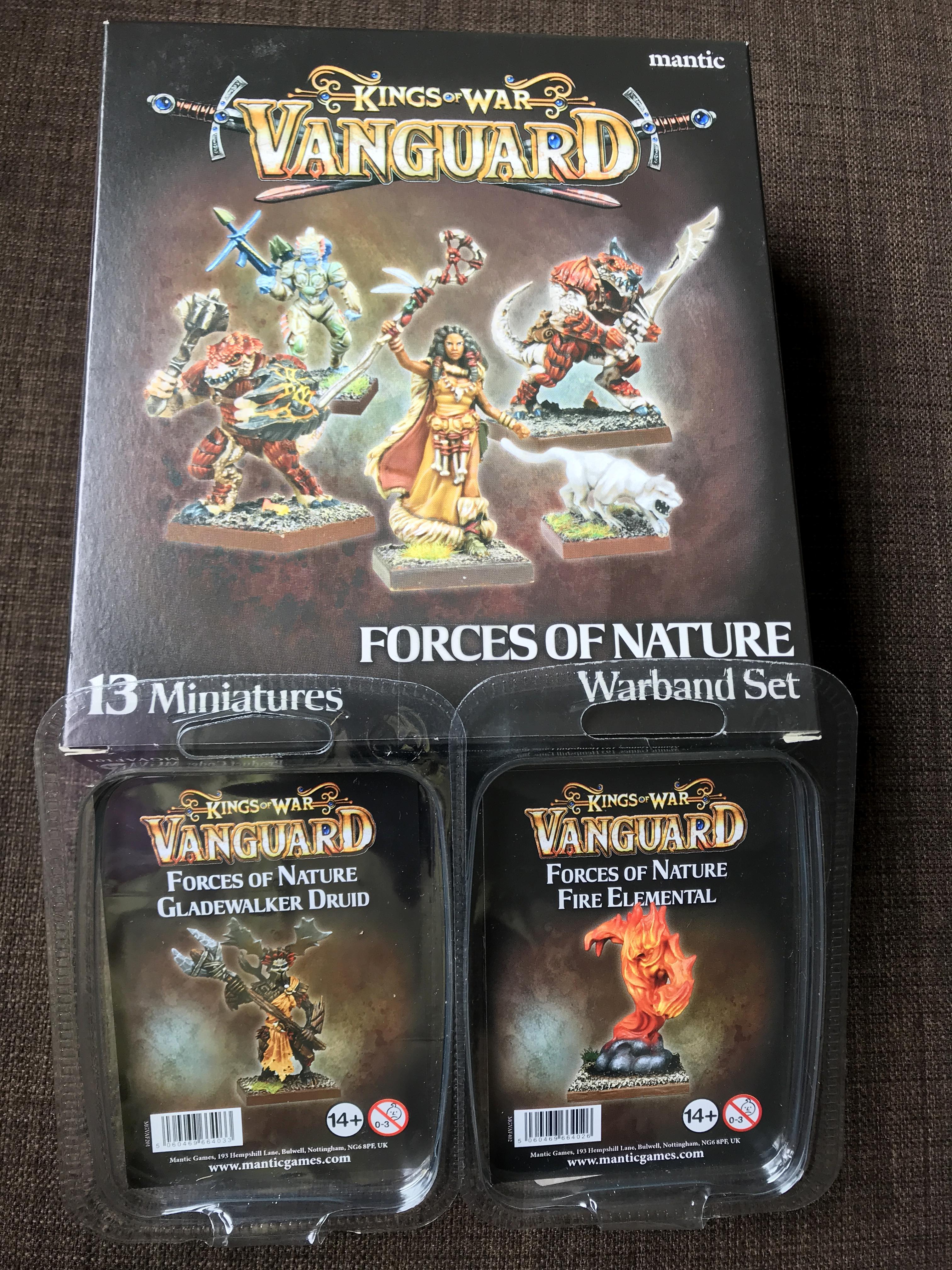 Forces Of Nature, Kings Of War Vanguard, Mantic