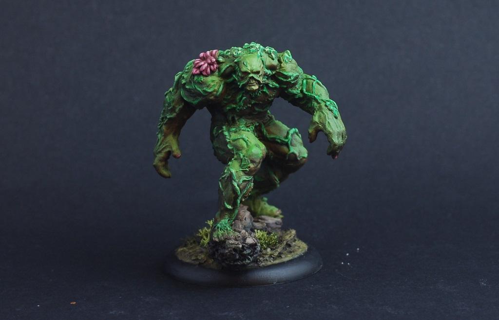 Comics, Dc Miniatures, Swamp Thing