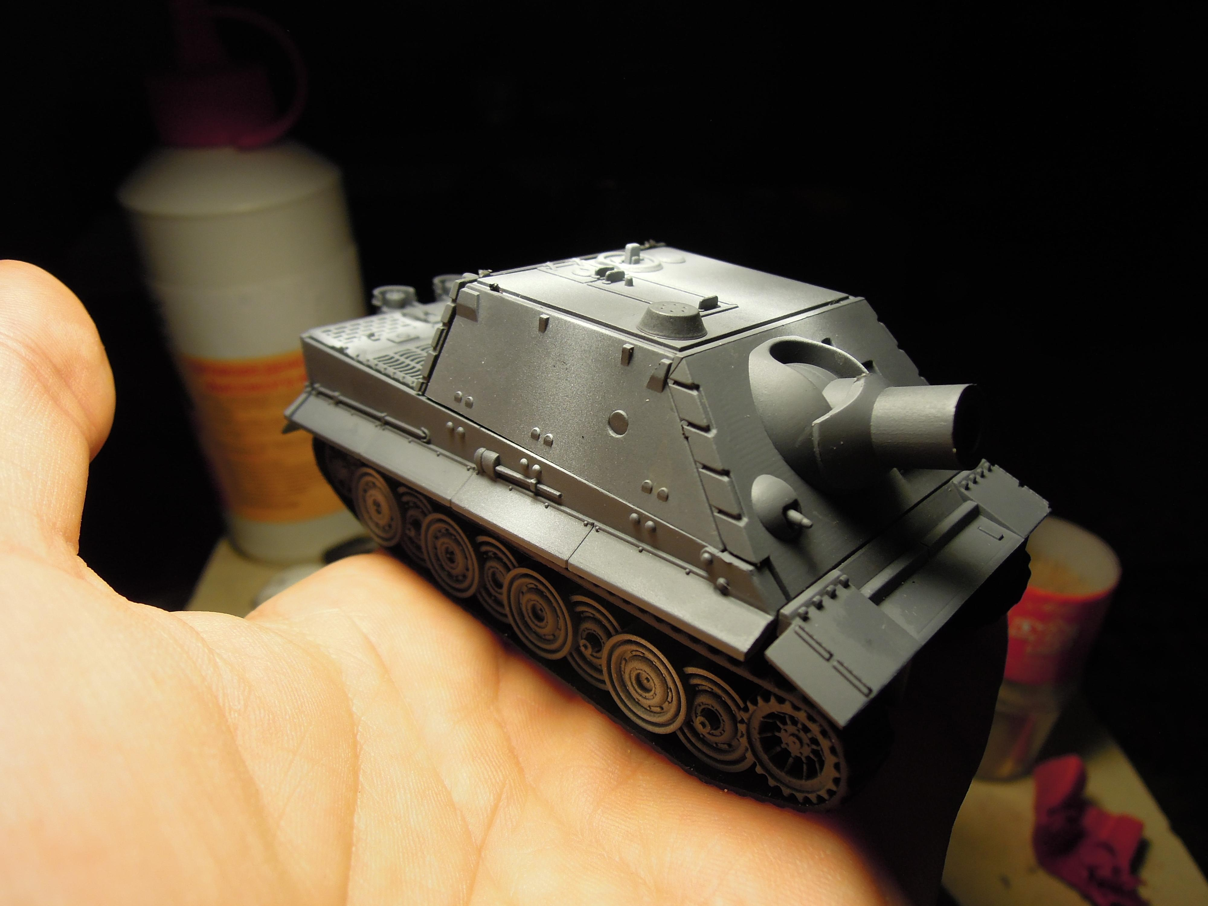 Armored Vehicle, Blood Pact, Chaos, Conversion, Heavy Support, Sturmtiger, Tank, Warhammer 40,000, Work In Progress