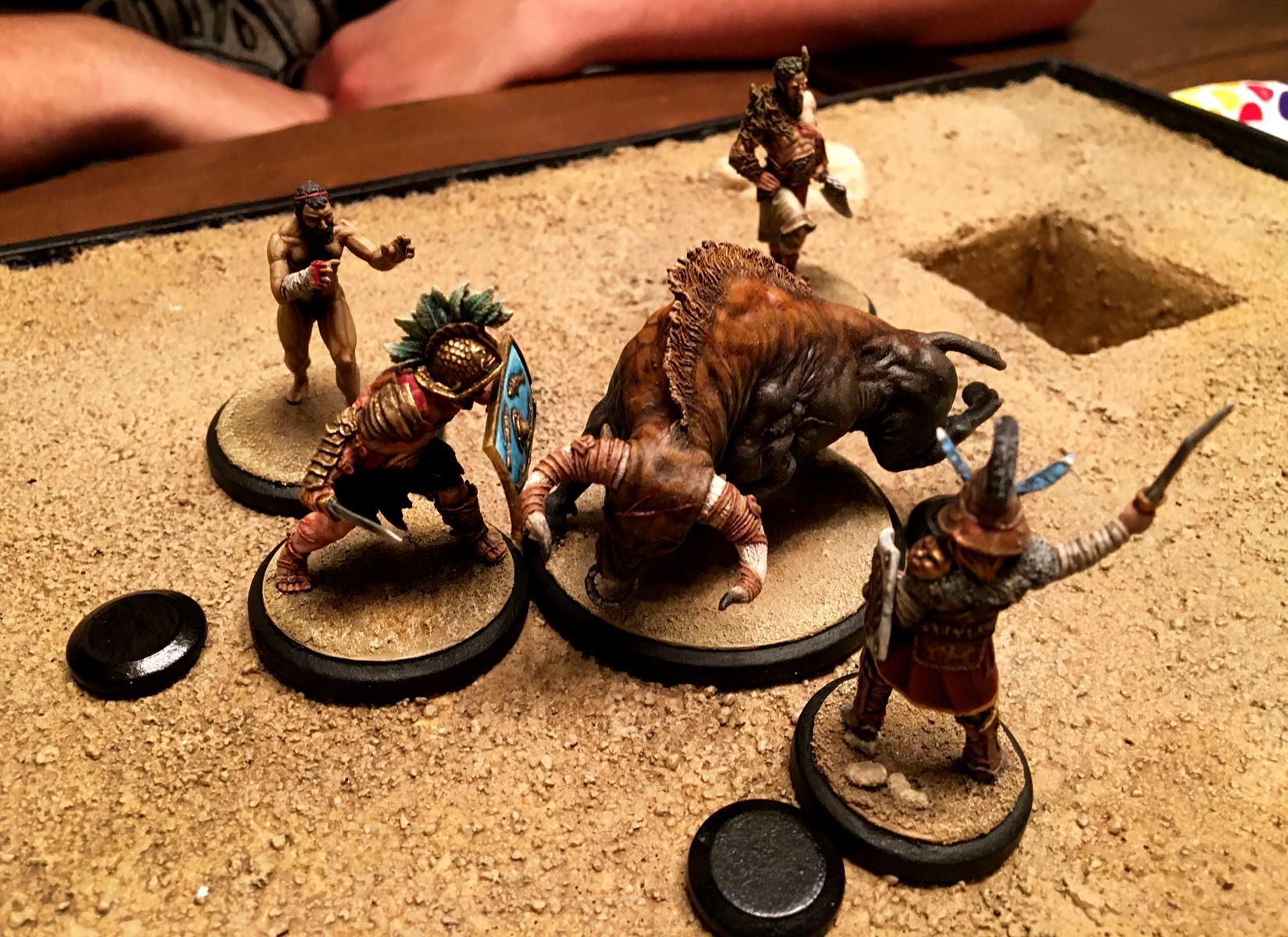 Arena, Beast, Gladiator, Red Republic Games, Rrg