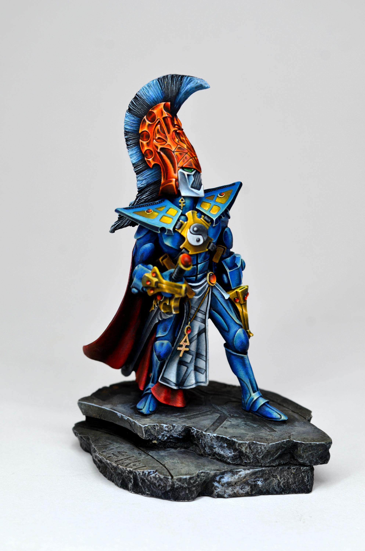 120mm, Asurman, Asurman Statue Eldar, Asurmen, Eldar, Forge World, Golden Demon, Large Scale, Statue, Warhammer 40,000, Warhammer Fantasy