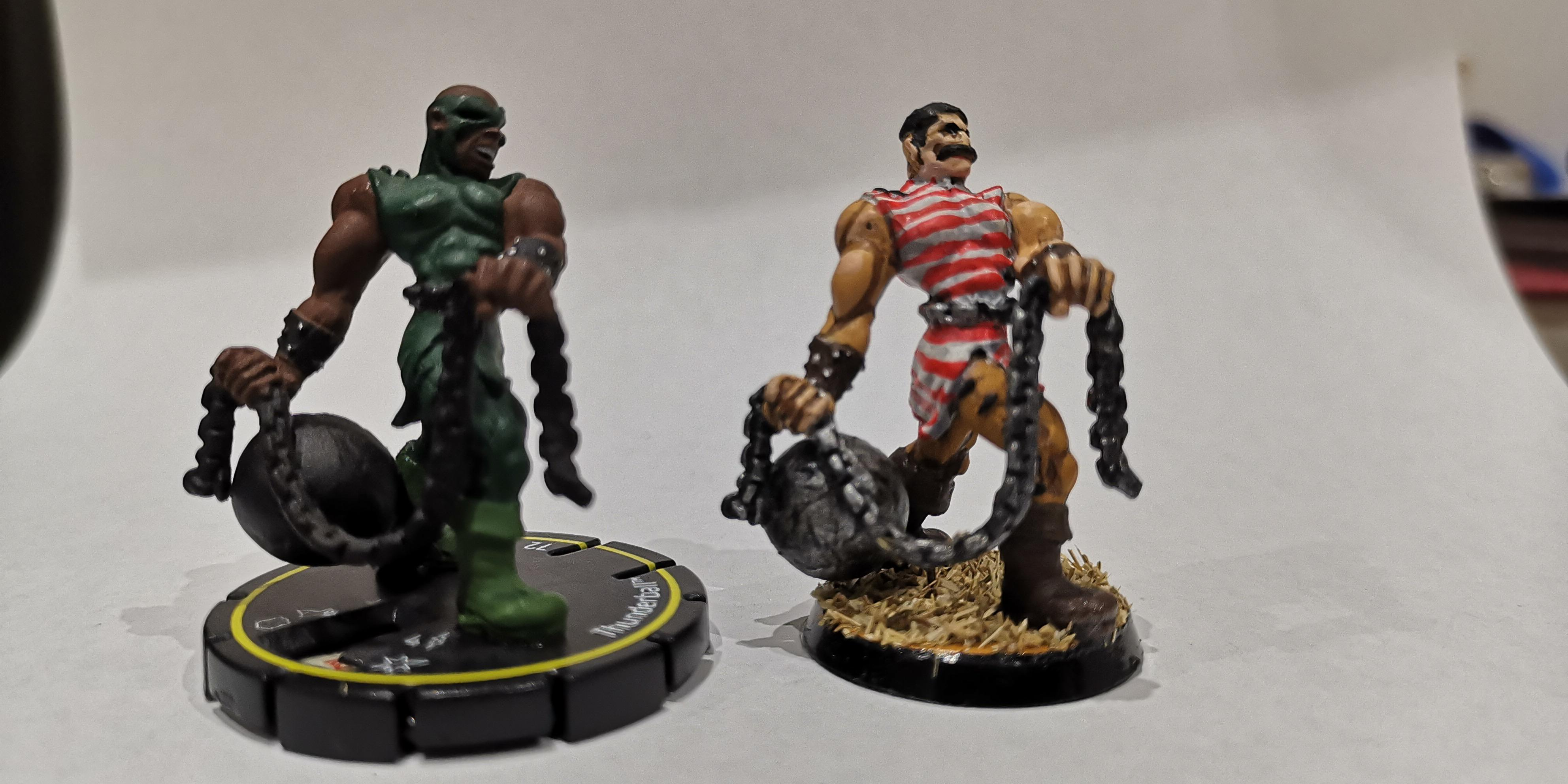Heroclix, Strong Man, Superhero