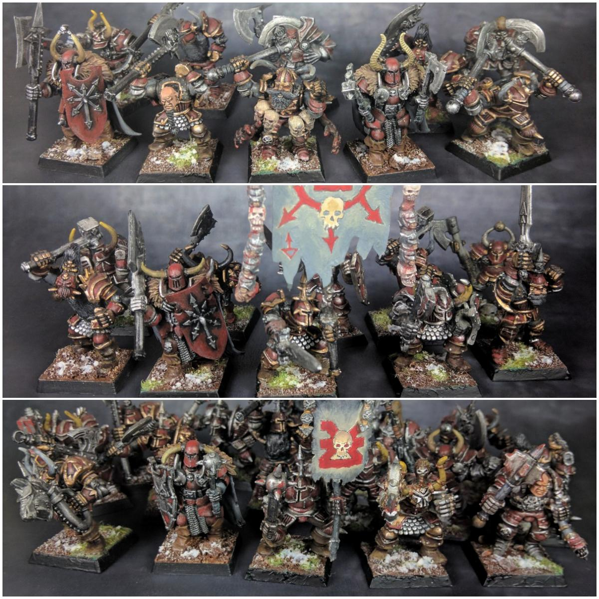 Age Of Sigmar, Chaos, Chaos Warrior, Khorne, Slaves To Darkness, Warriors
