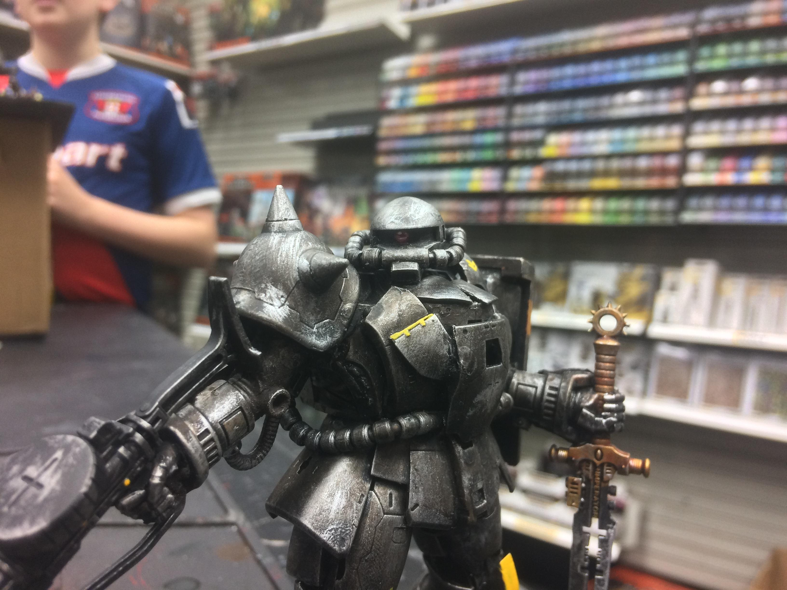 Conversion, Dreadknight, Gundam, Gunpla, Zaku