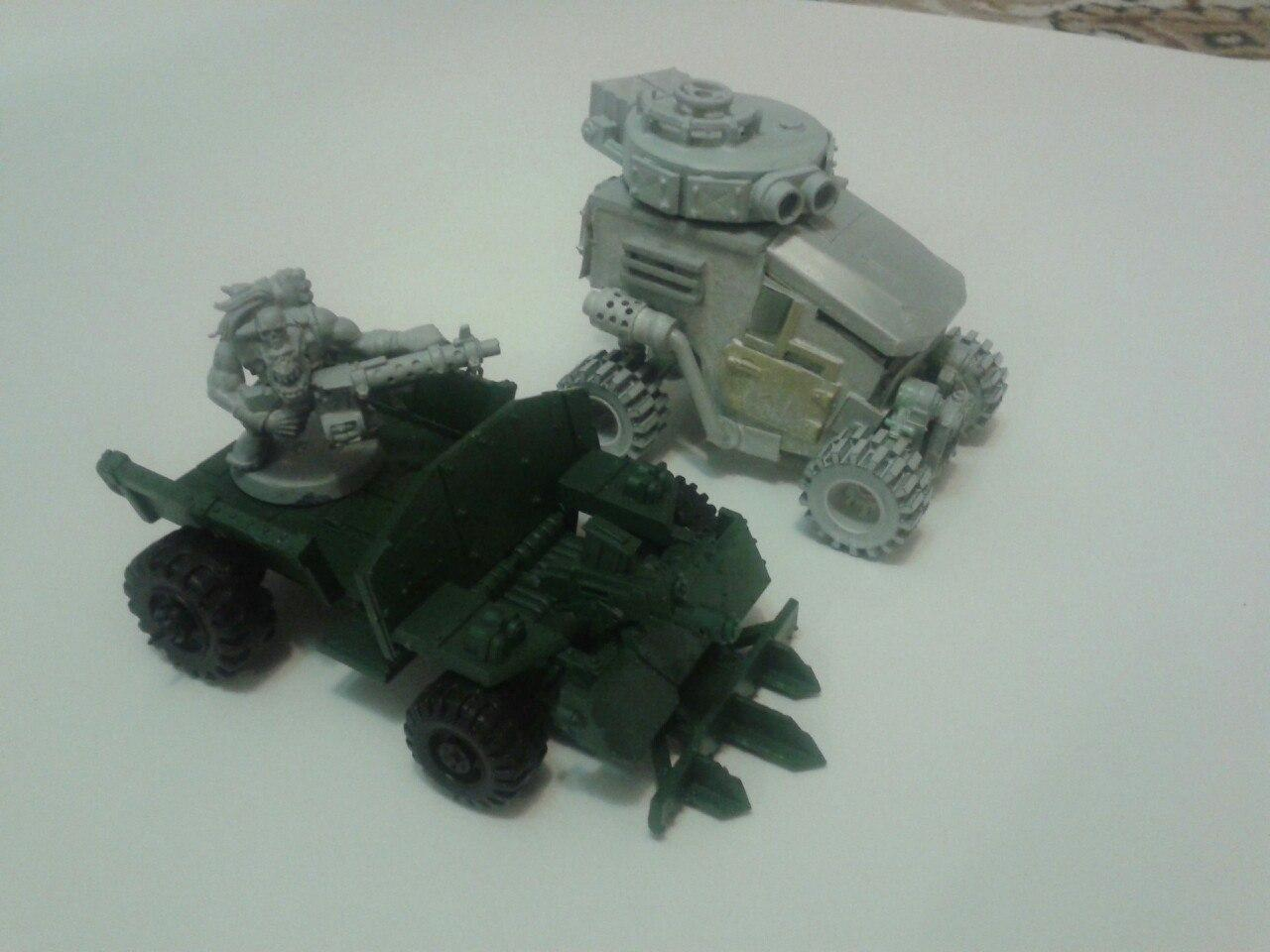 Buggy, Conversion, Orcs, Toy