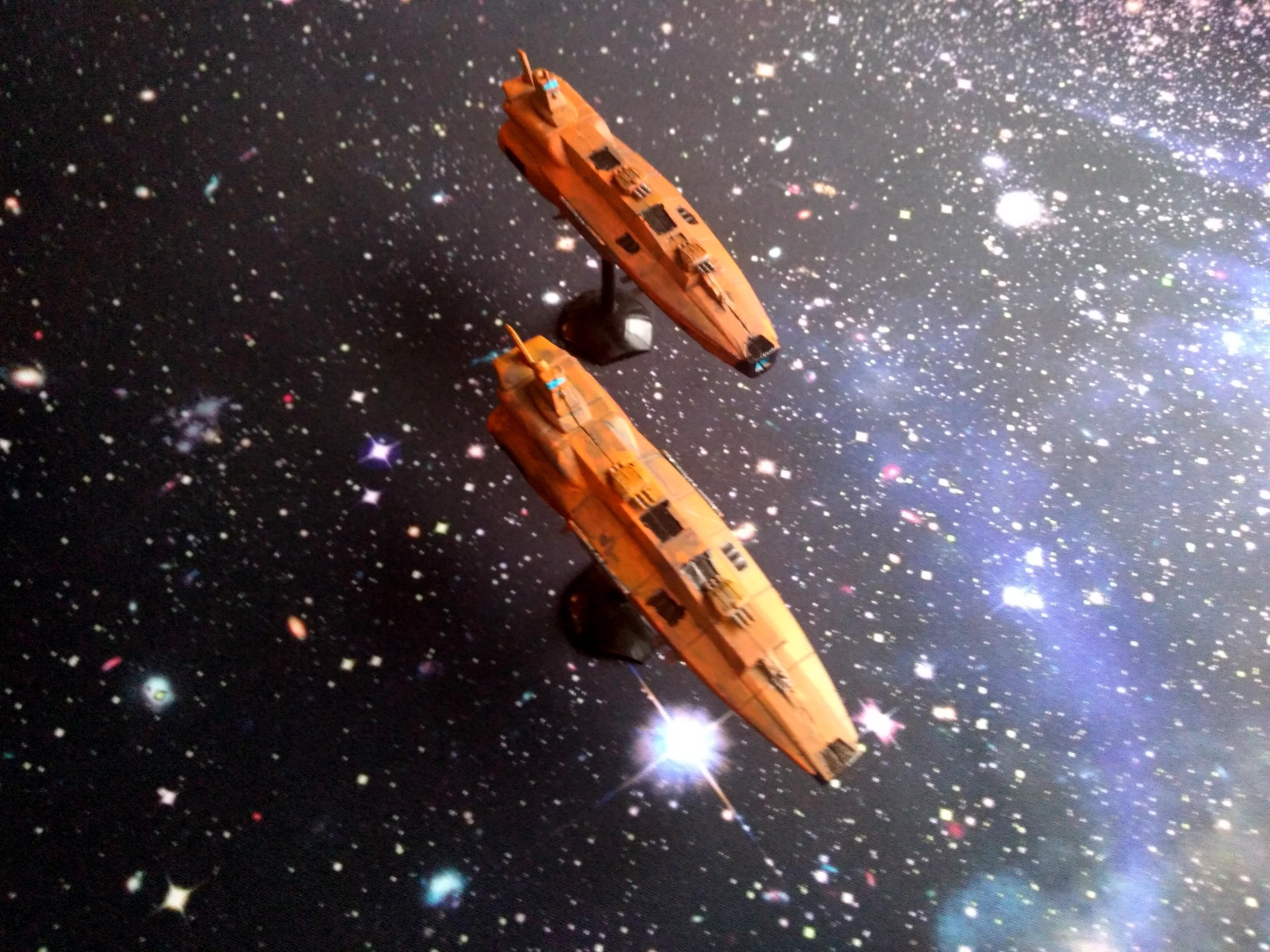 Bandai, Battlefleet Gothic, Mass Conveyor, Yamato