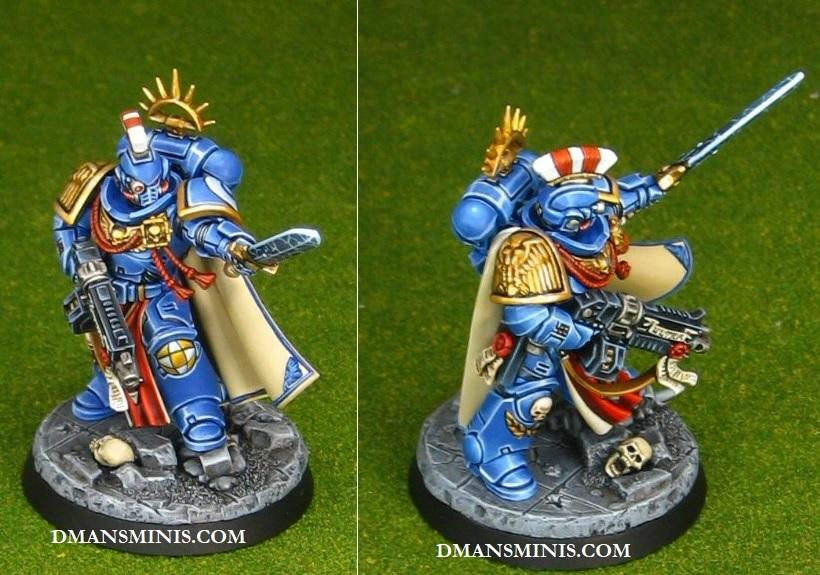 Power Sword, Space Marine Captain, Storm Bolter