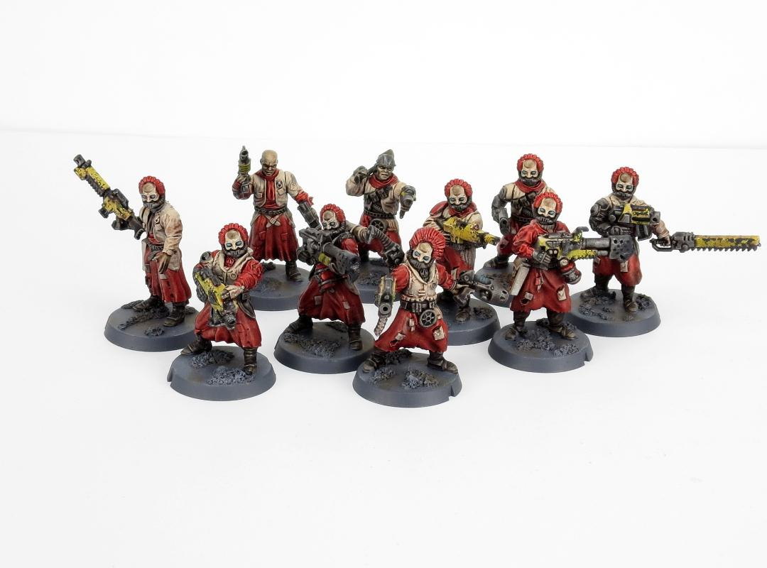 Cawdor Gang, Necromunda, Oldhammer