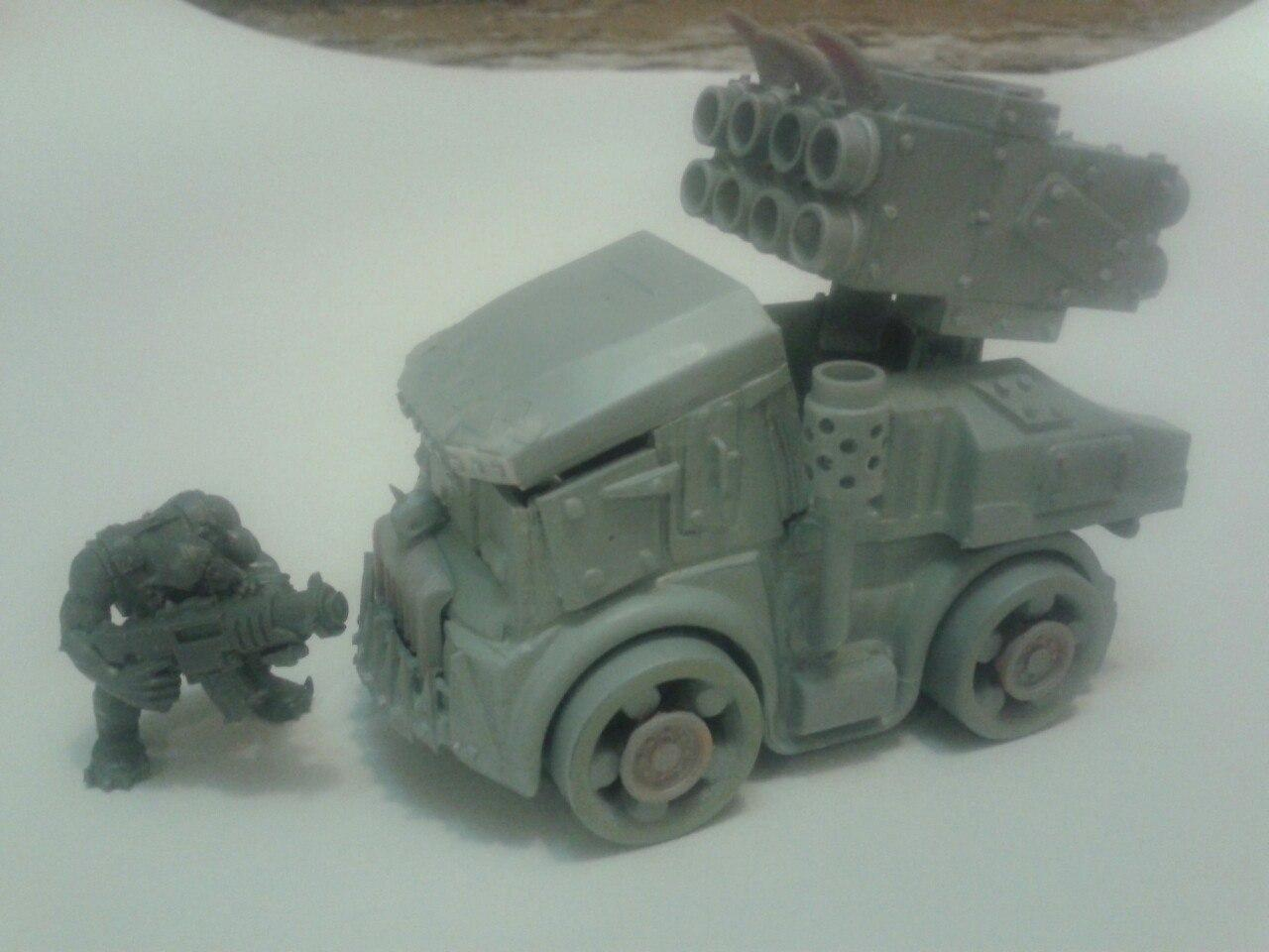Buggy, Conversion, Orks, Toy
