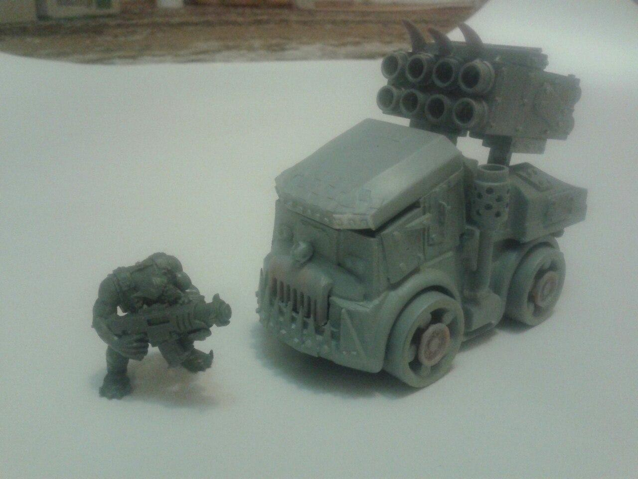 Buggy, Conversion, Orcs, Orks, Toy