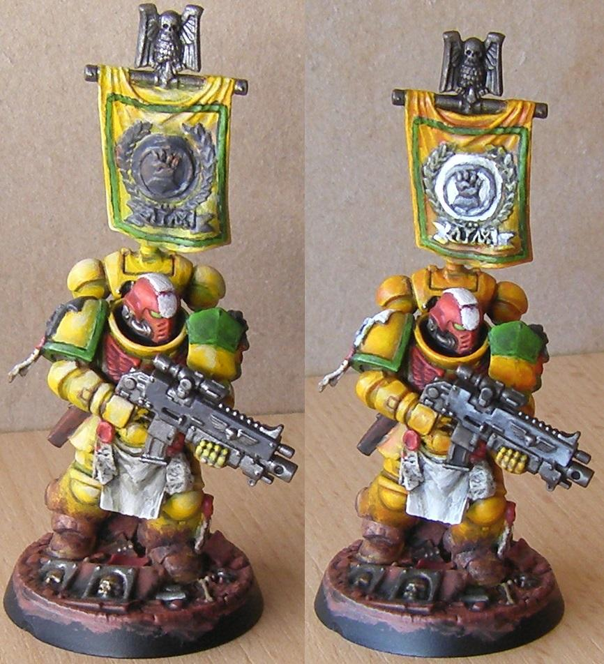 Imperial Fist Before/After Contrast