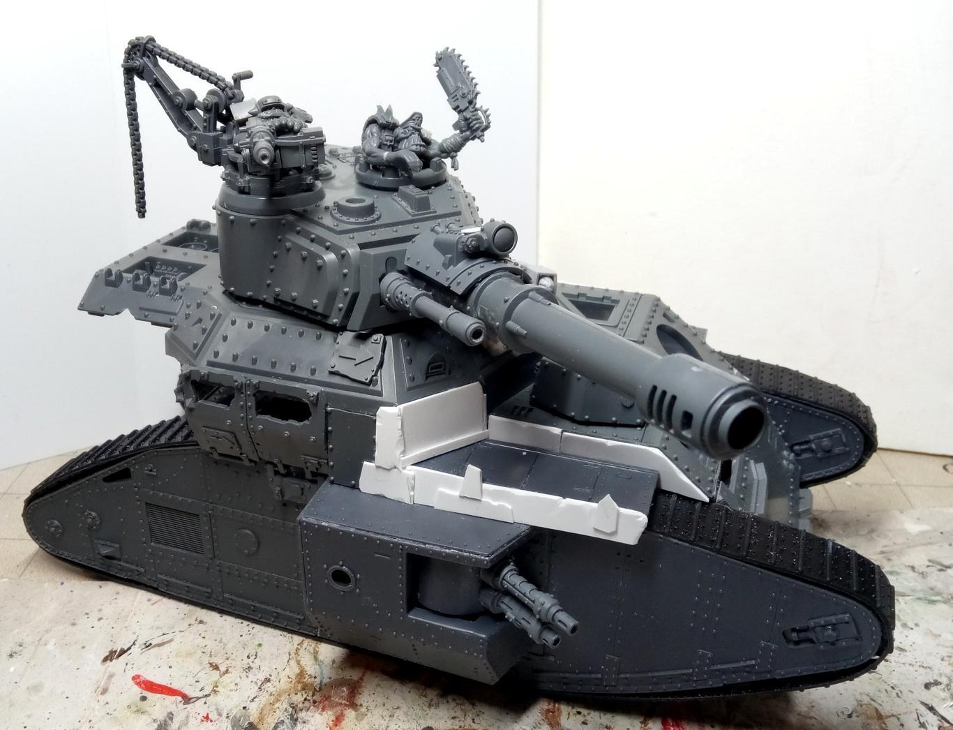 Kill Tank, Lord Of War, Orks, Super-heavy, Tank, Work In Progress