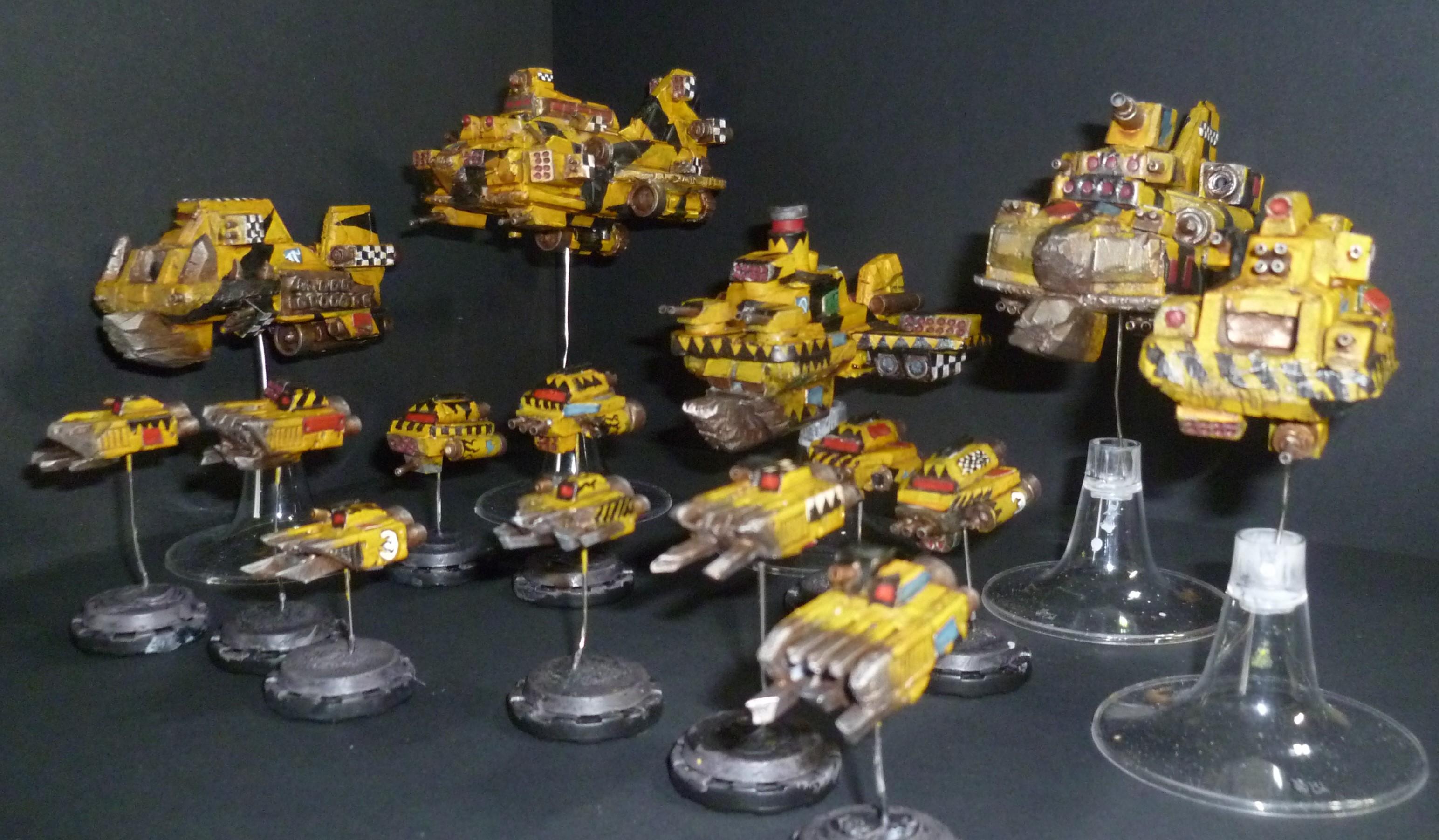 Battlefleet Gothic, Orks, Spaceships