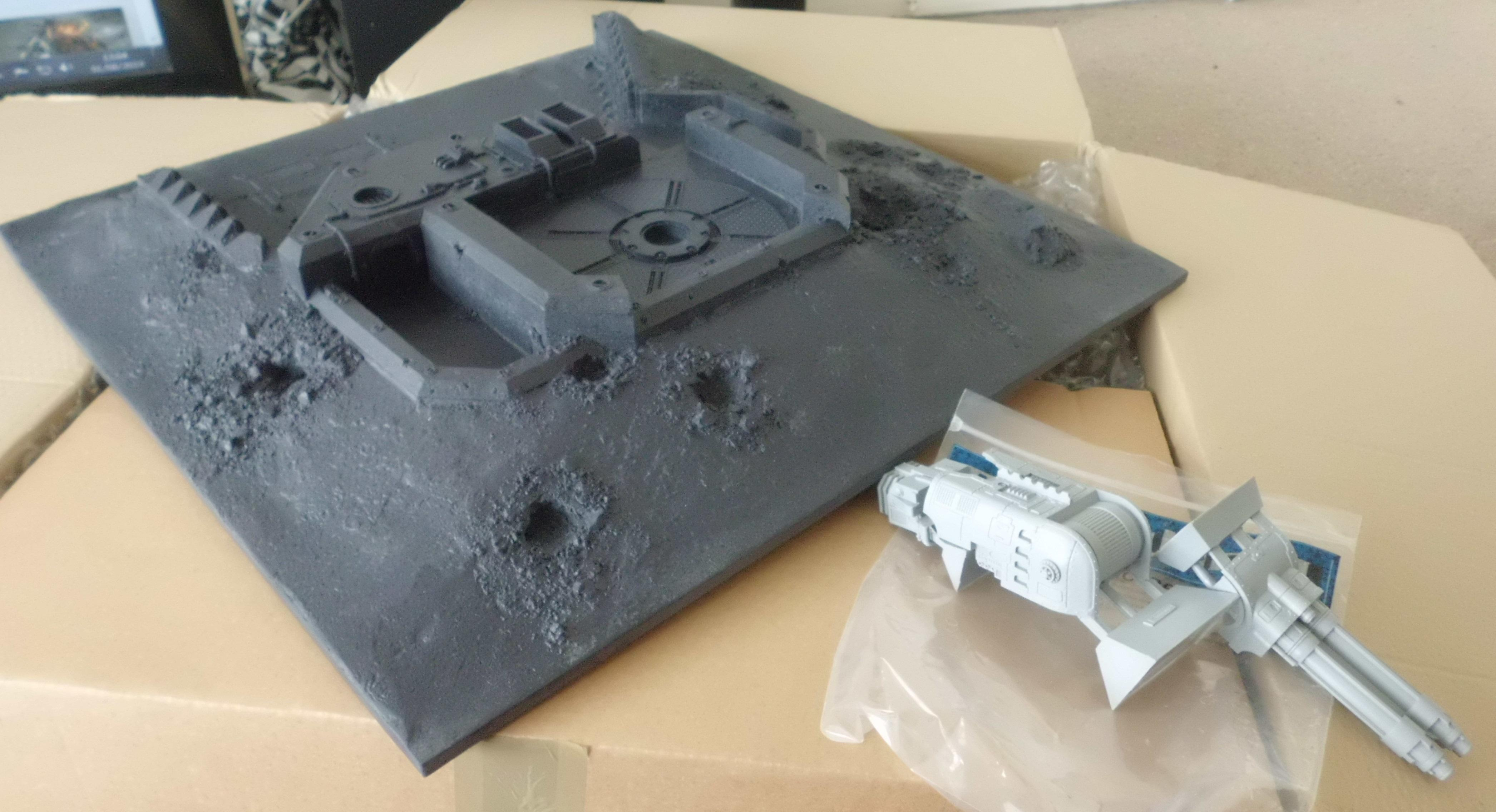 30k, Fortification, Horus Heresy, Primus Redoubt, Realm Of Battle, Turbo Laser Emplacement, Warhammer 40,000