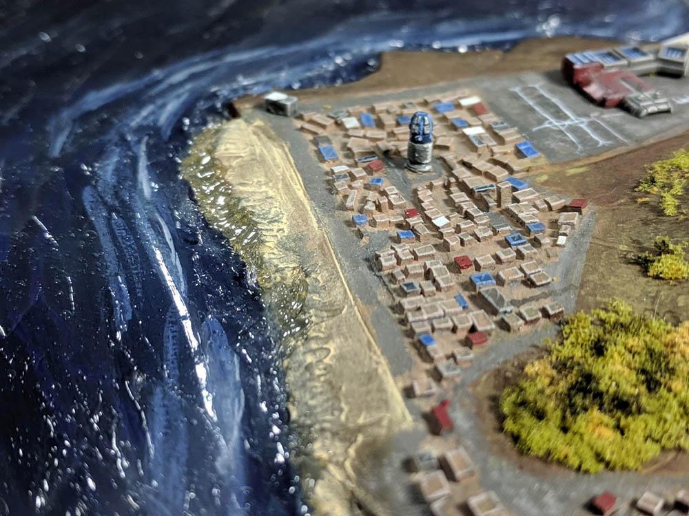 Ocean, Tizca, Water Effects