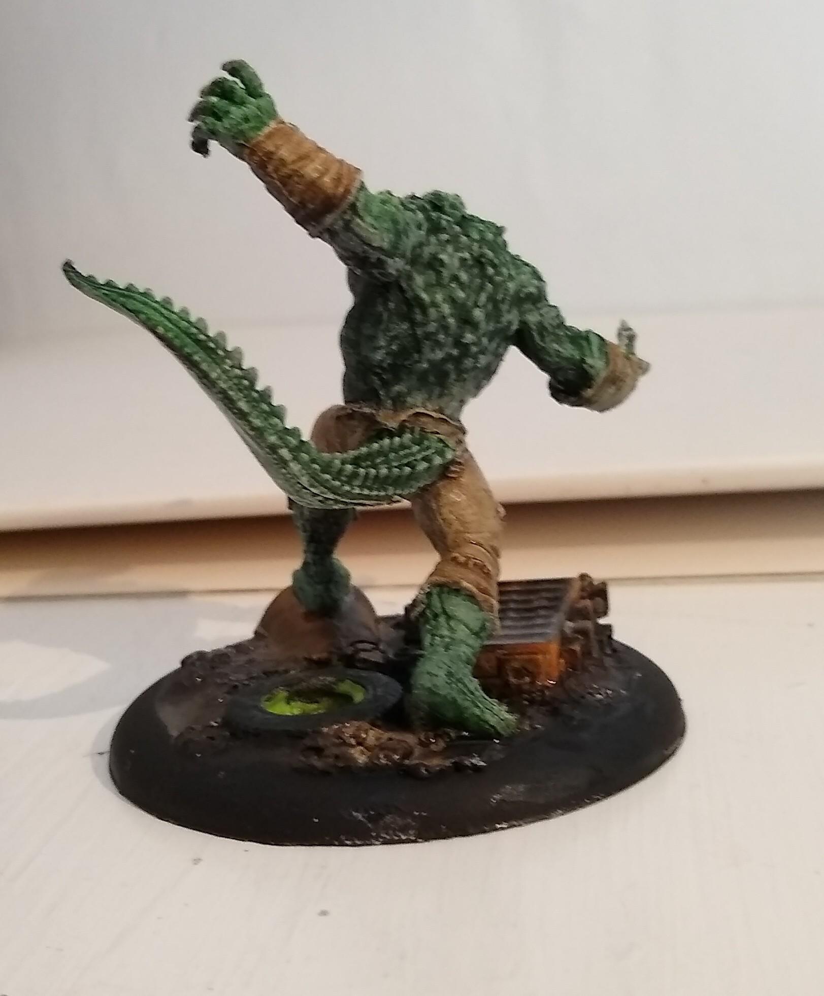 Killer Croc back