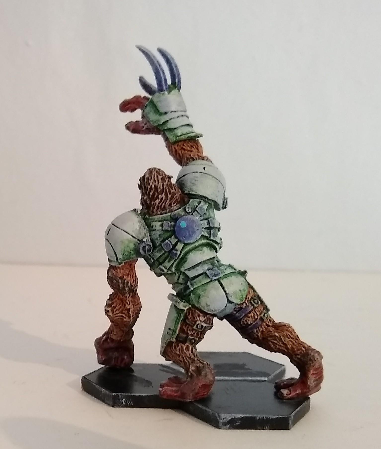 Alpha Simian rear