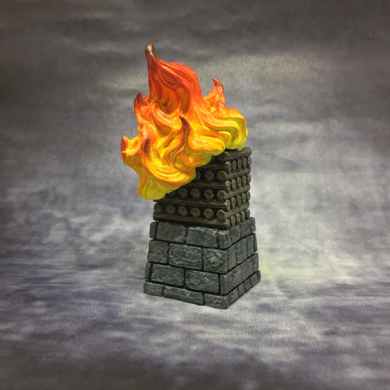 August 2019, Beacon, Fire, Mantic, Objective Marker, Scatter, Terrain, Vanguard