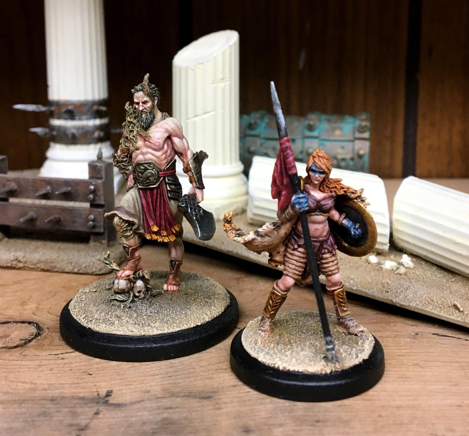 Aemilia, Gladiator, Legio 13, Legion, Red Republic Games, Romans, Rrg, Warpaint, Woad, Xiii