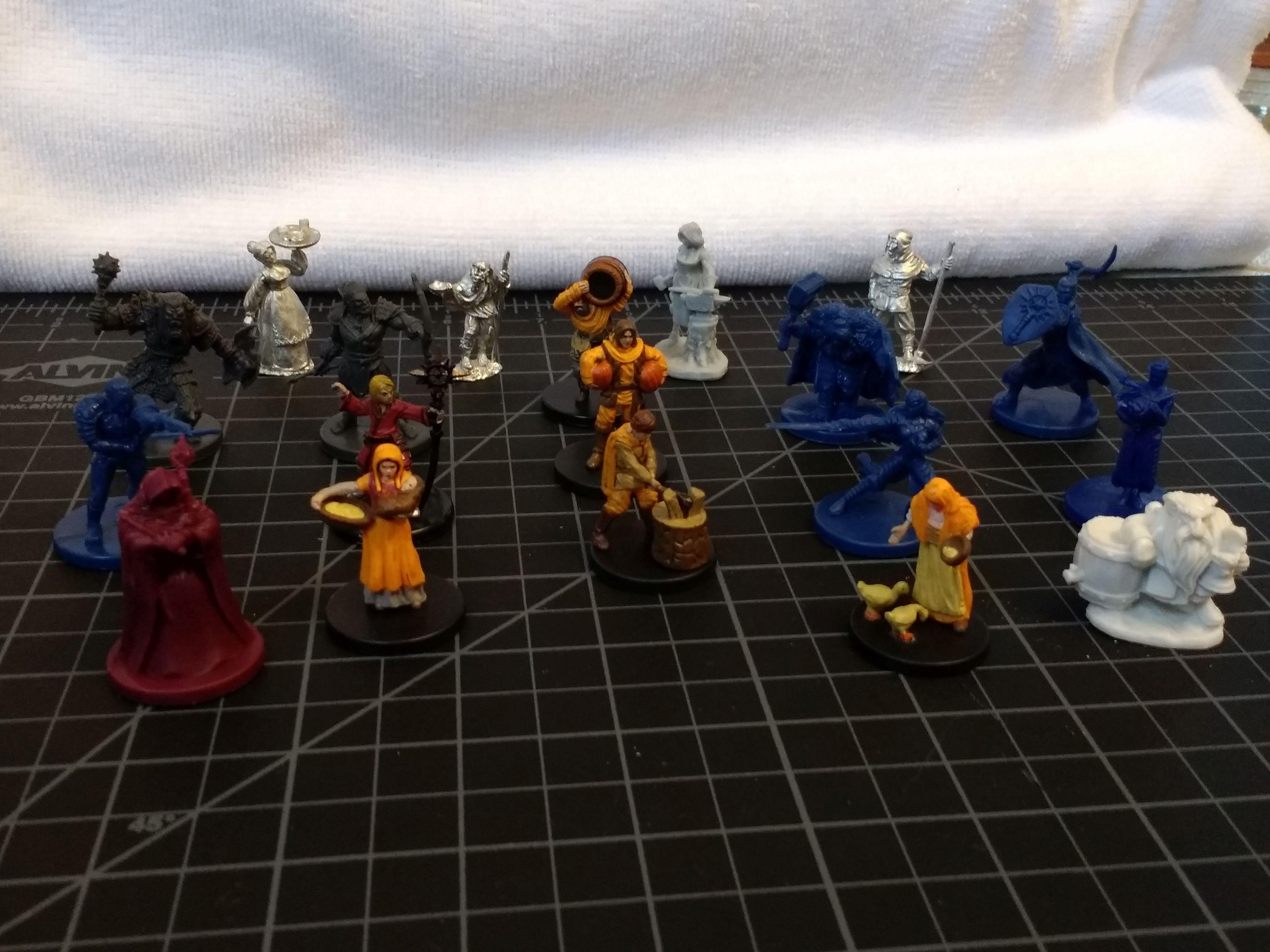 Agricola, Dungeons And Dragons