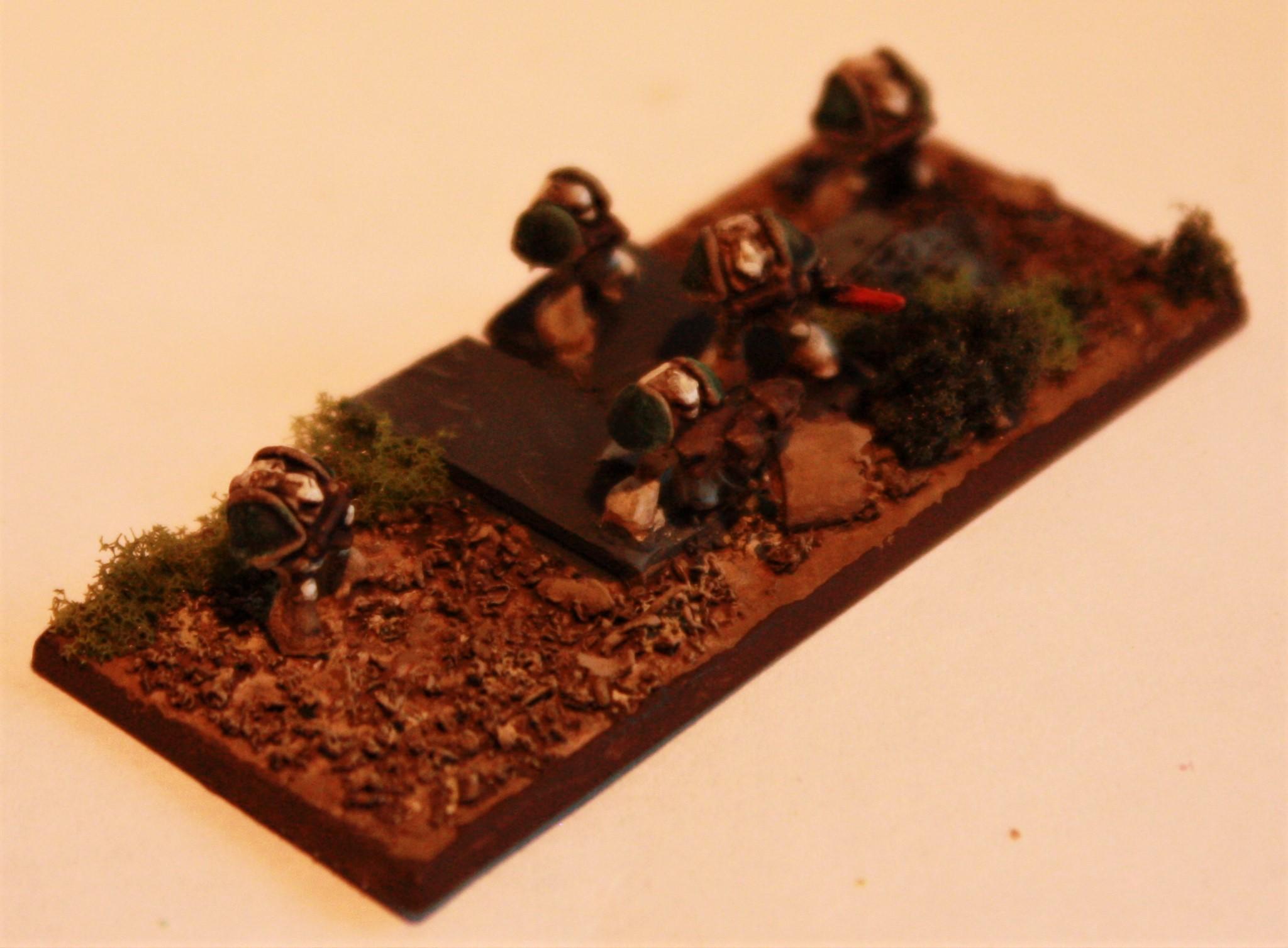 30k, 6mm, Death Guard, Epic, Space Marines, Warhammer 40,000, Xiv