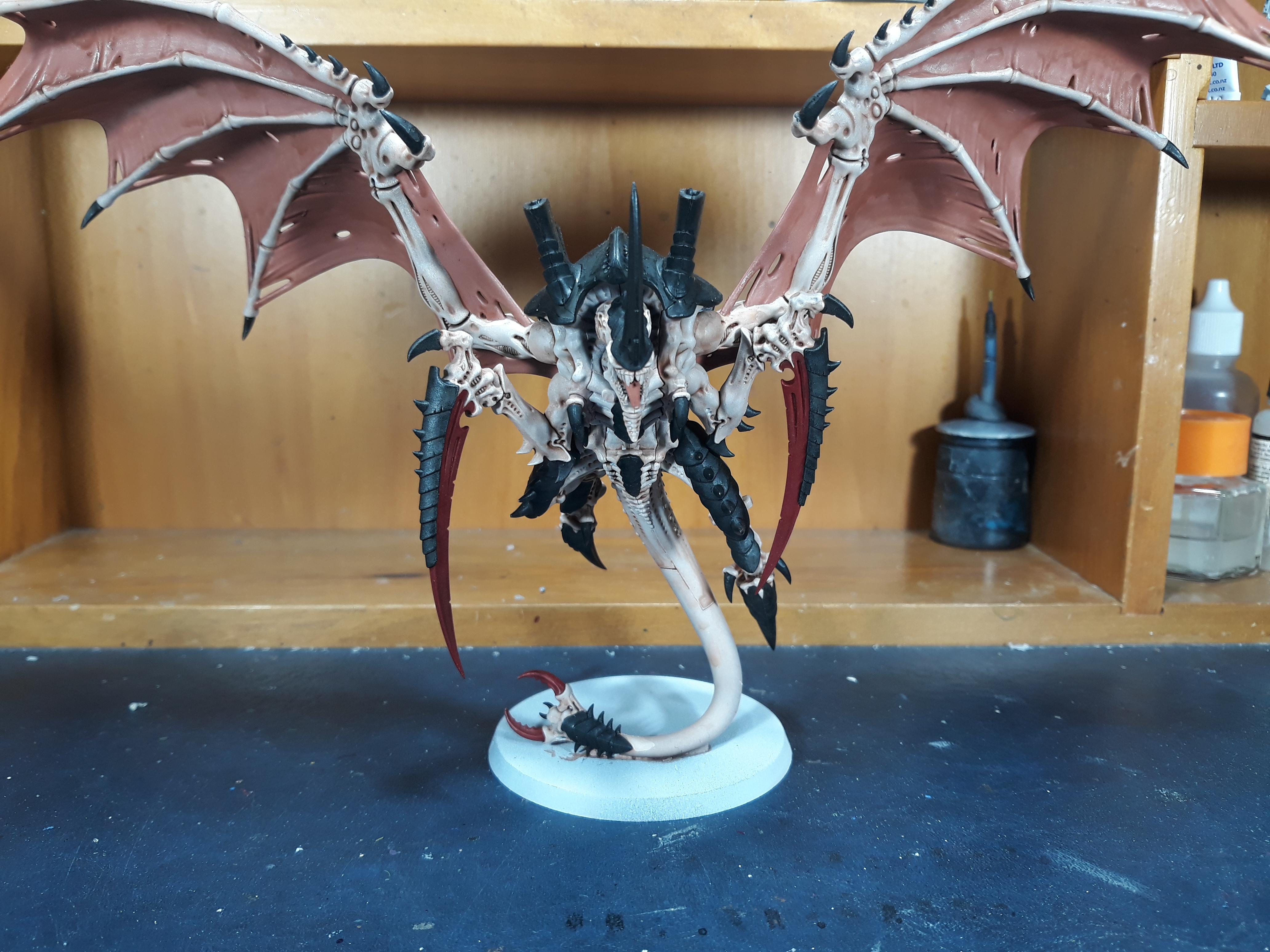 Flying Hive Tyrant done with claws