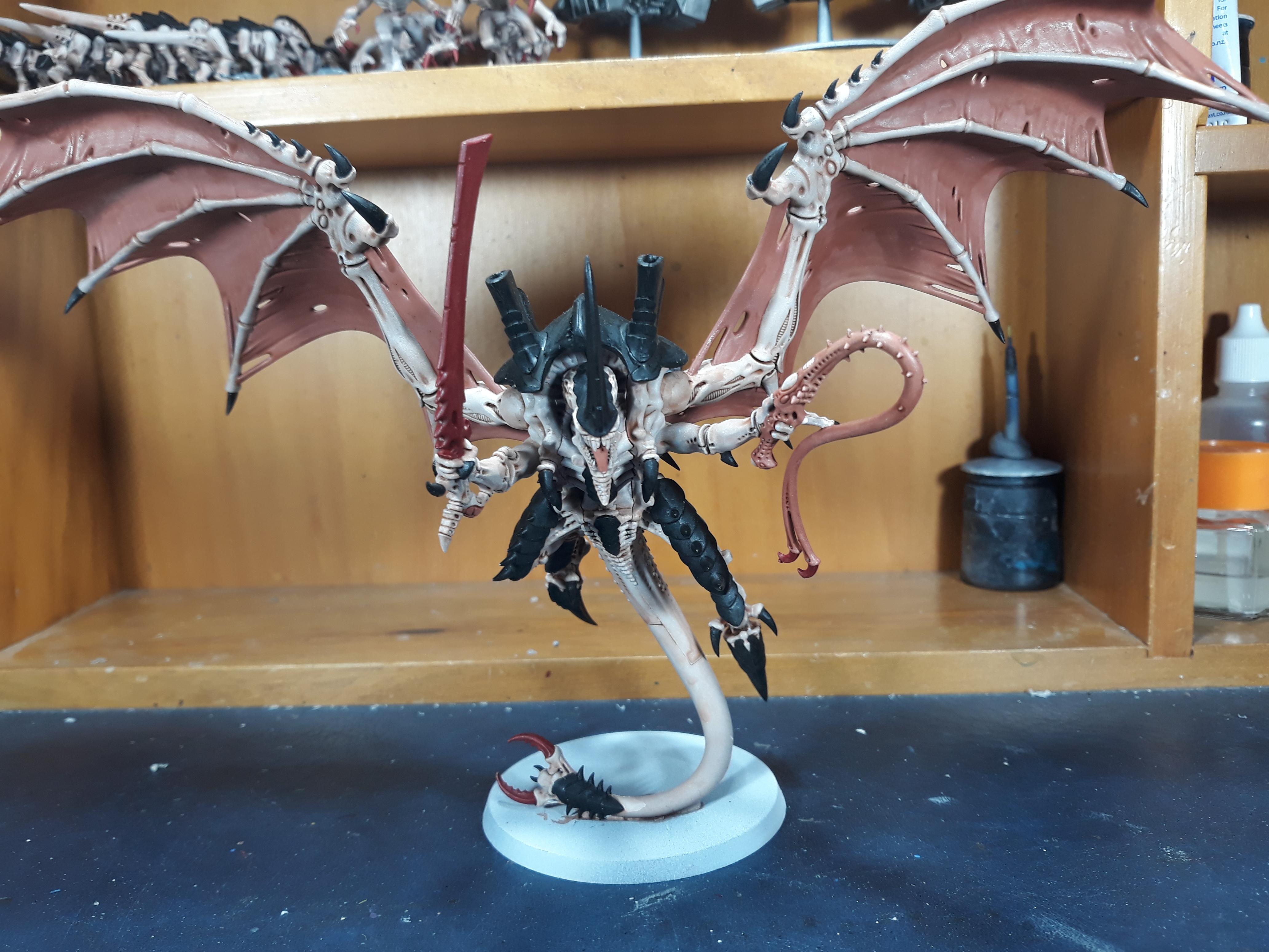 Flying Hive Tyrant done with sword/whip