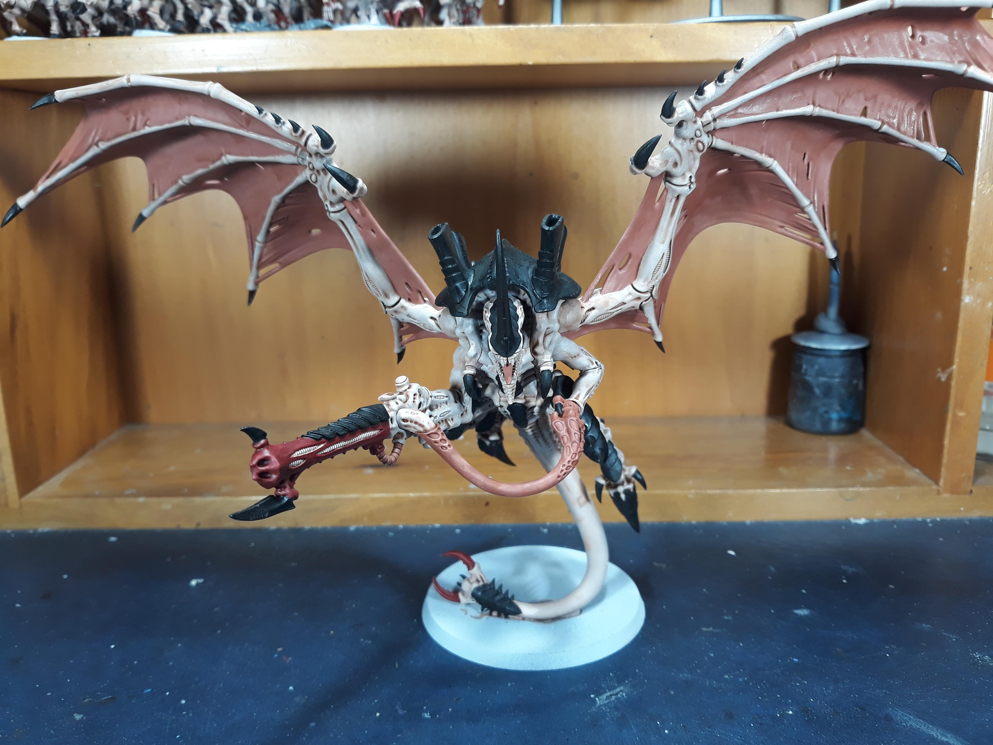 Flying Hive Tyrant done with barbed