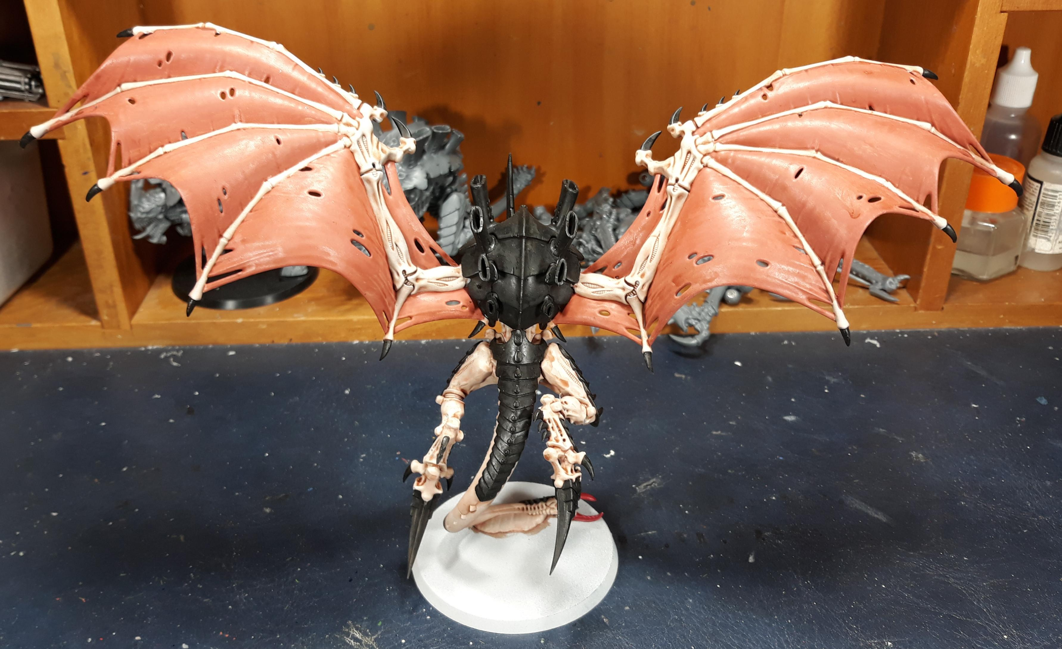 Hive Tyrant Done /w wings