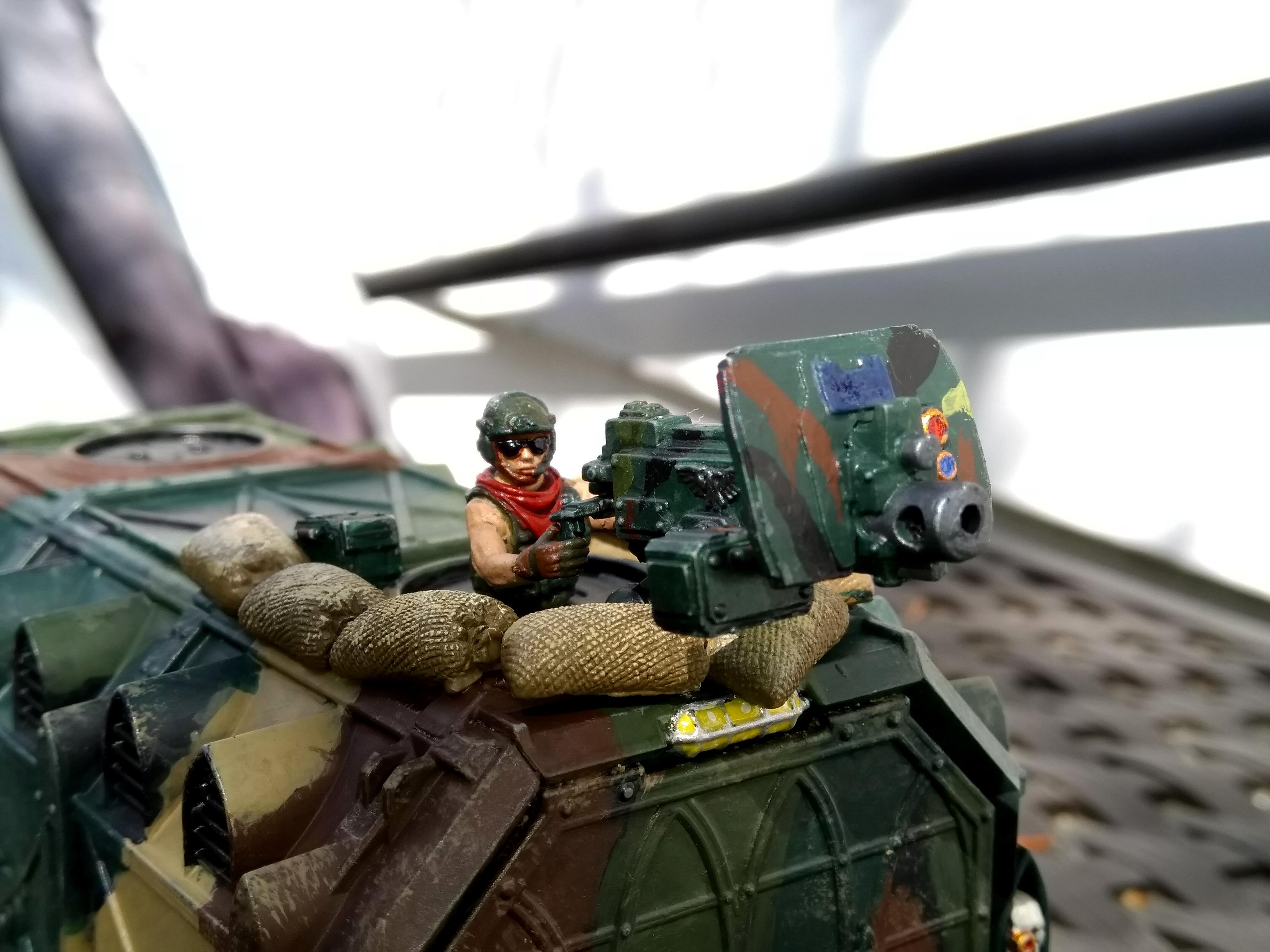 Apc, Catachan, Heavy Bolter, Imperial Guard, Road Train