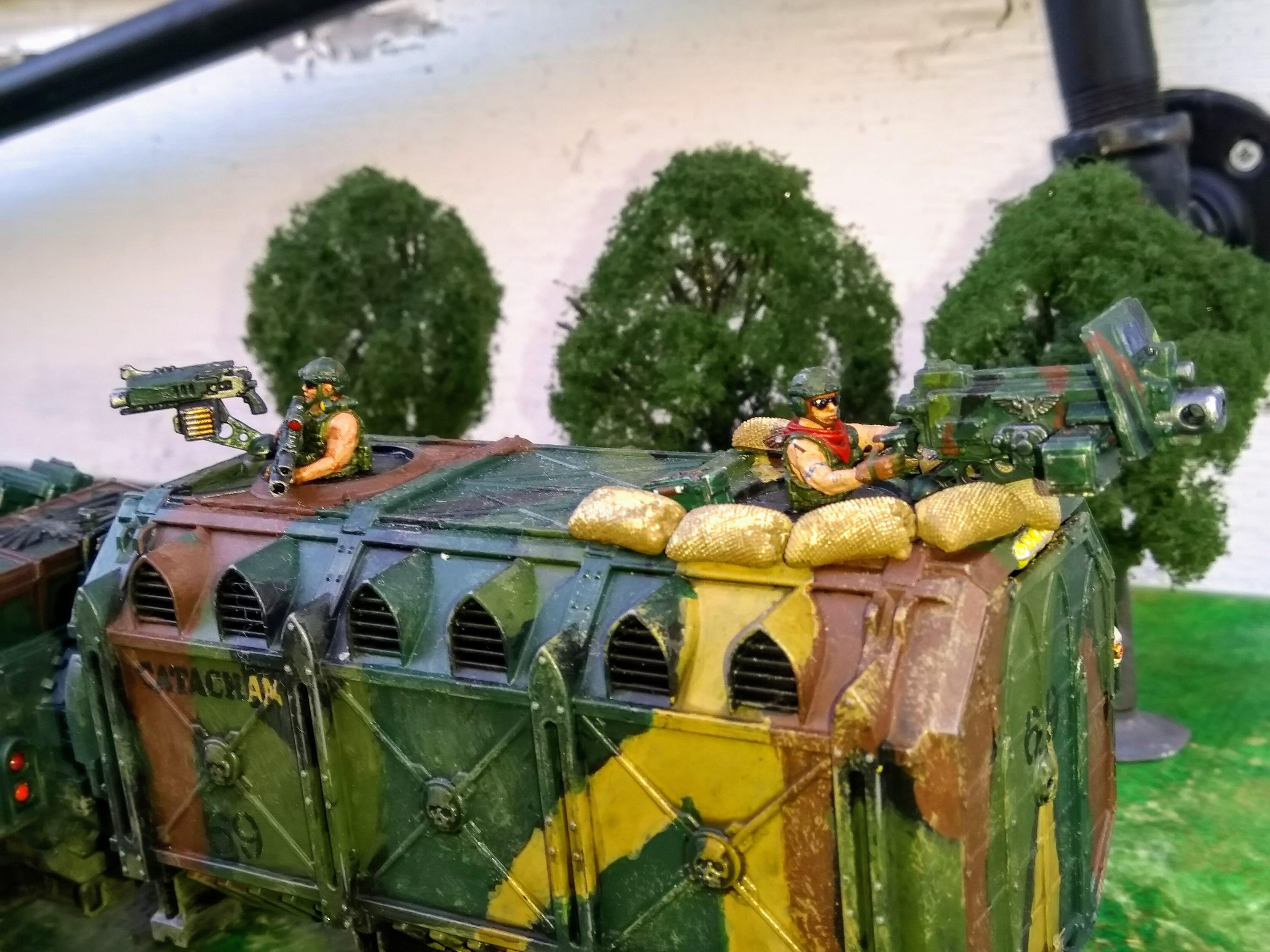 Apc, Canyonero, Catachan, Imperial Guard, Kitbash, Road-train