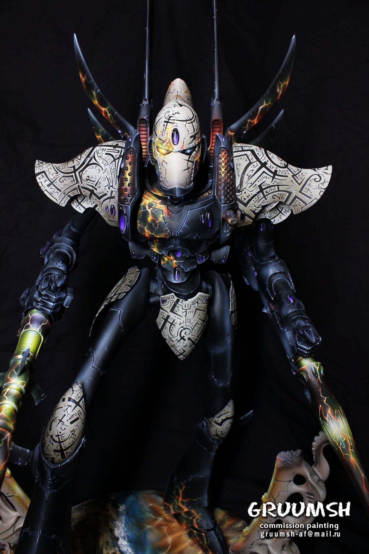 Eldar, Pro-painted, Titan, Warhammer 40,000