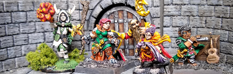 Barbarian, Bard, Druid, Dungeons And Dragons, Sorceress, Warlock